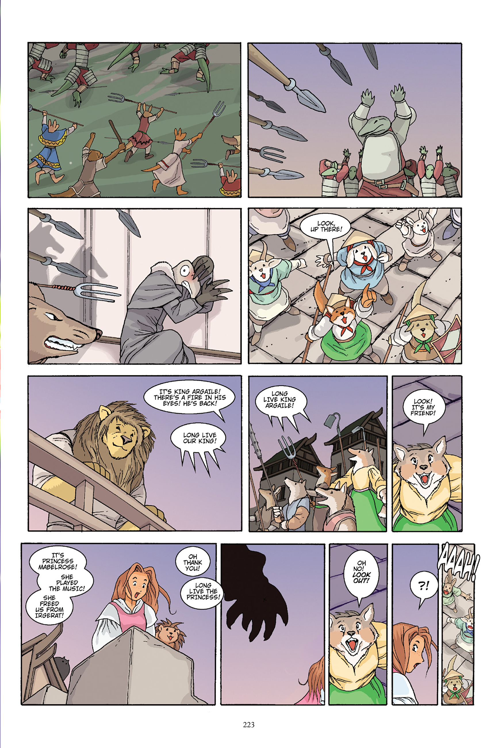 Read online Courageous Princess comic -  Issue # TPB 1 - 220