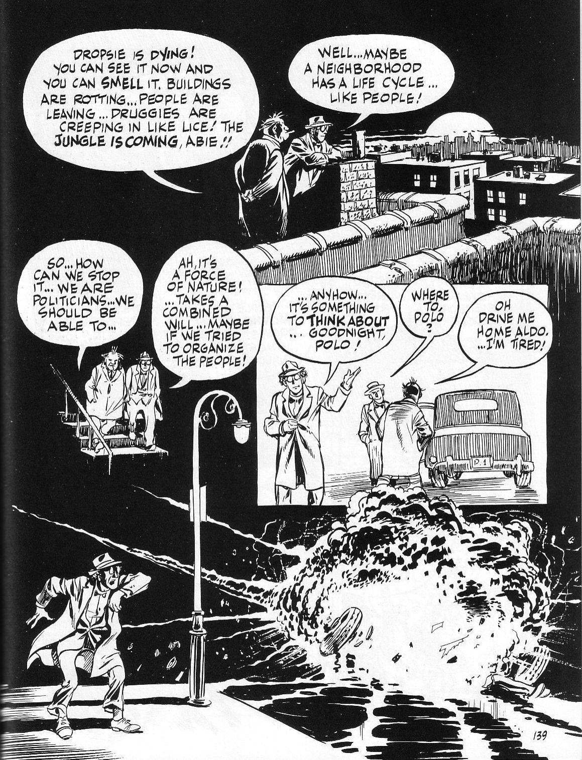 Read online Dropsie Avenue, The Neighborhood comic -  Issue # Full - 141