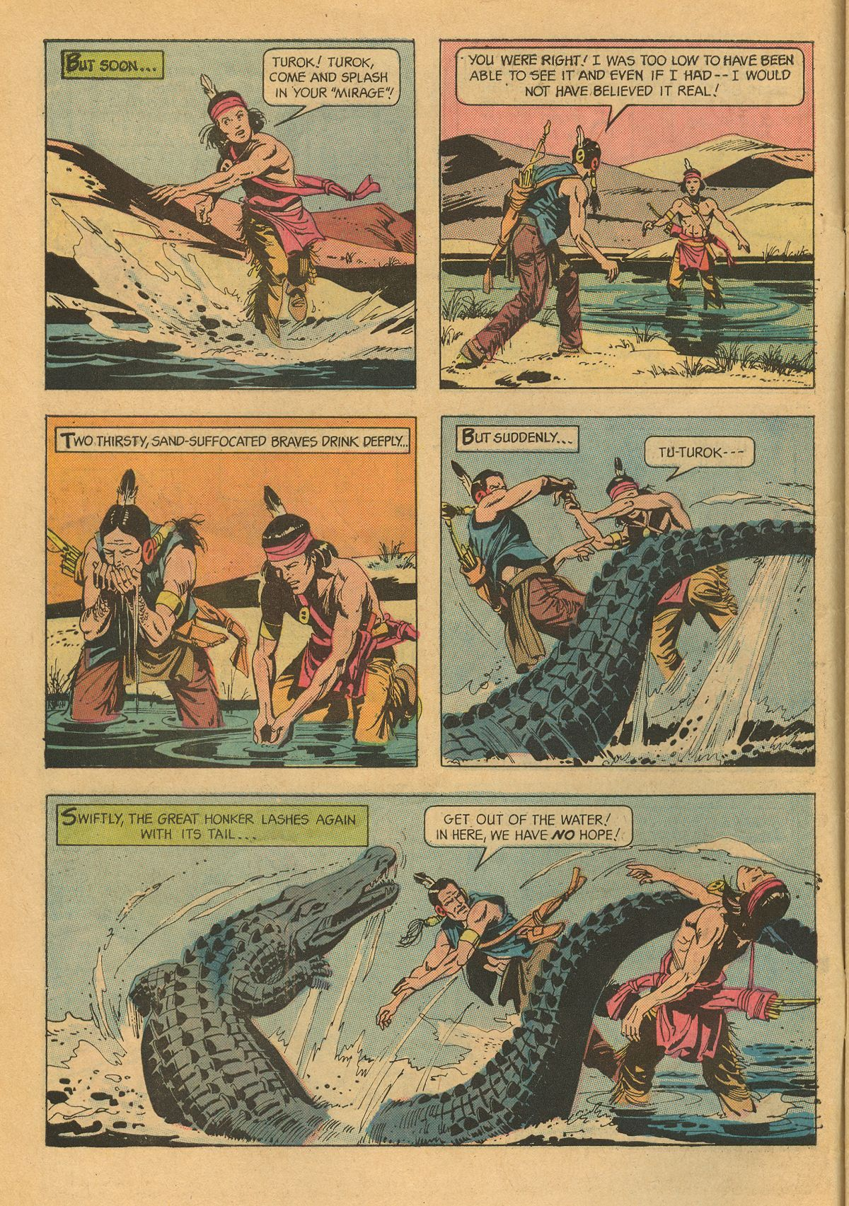 Read online Turok, Son of Stone comic -  Issue #75 - 6