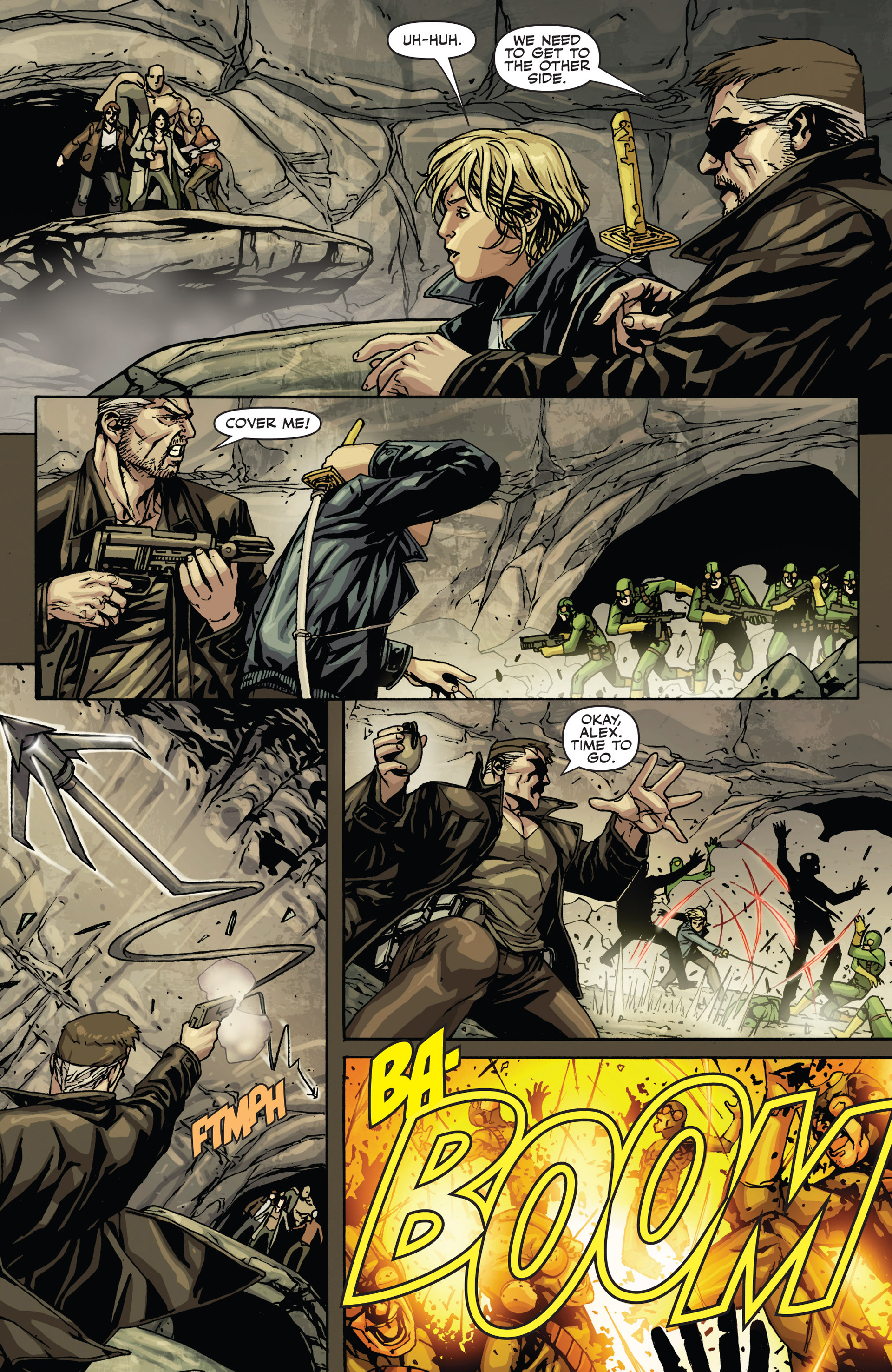 Read online Secret Warriors comic -  Issue #21 - 14