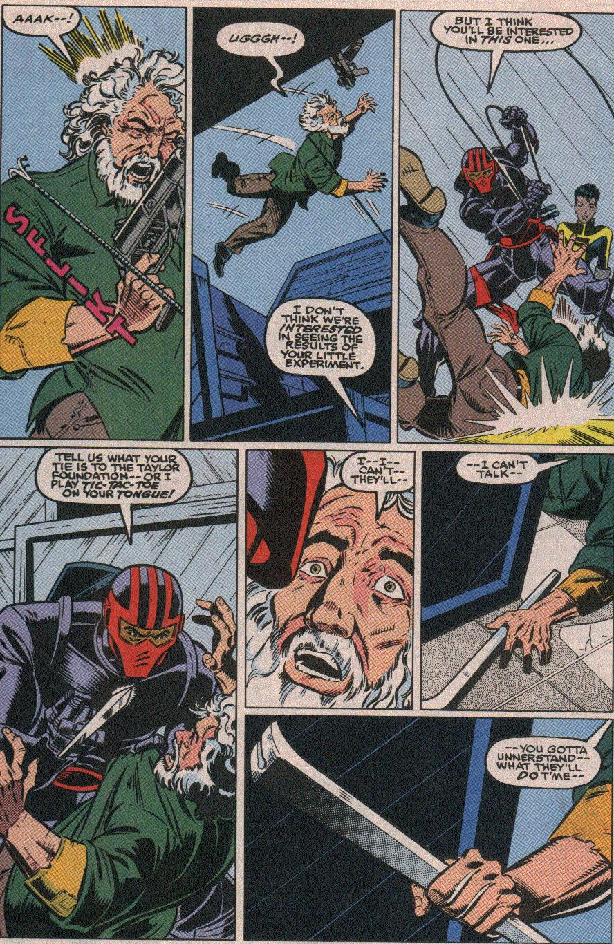 The New Warriors Issue #18 #22 - English 16