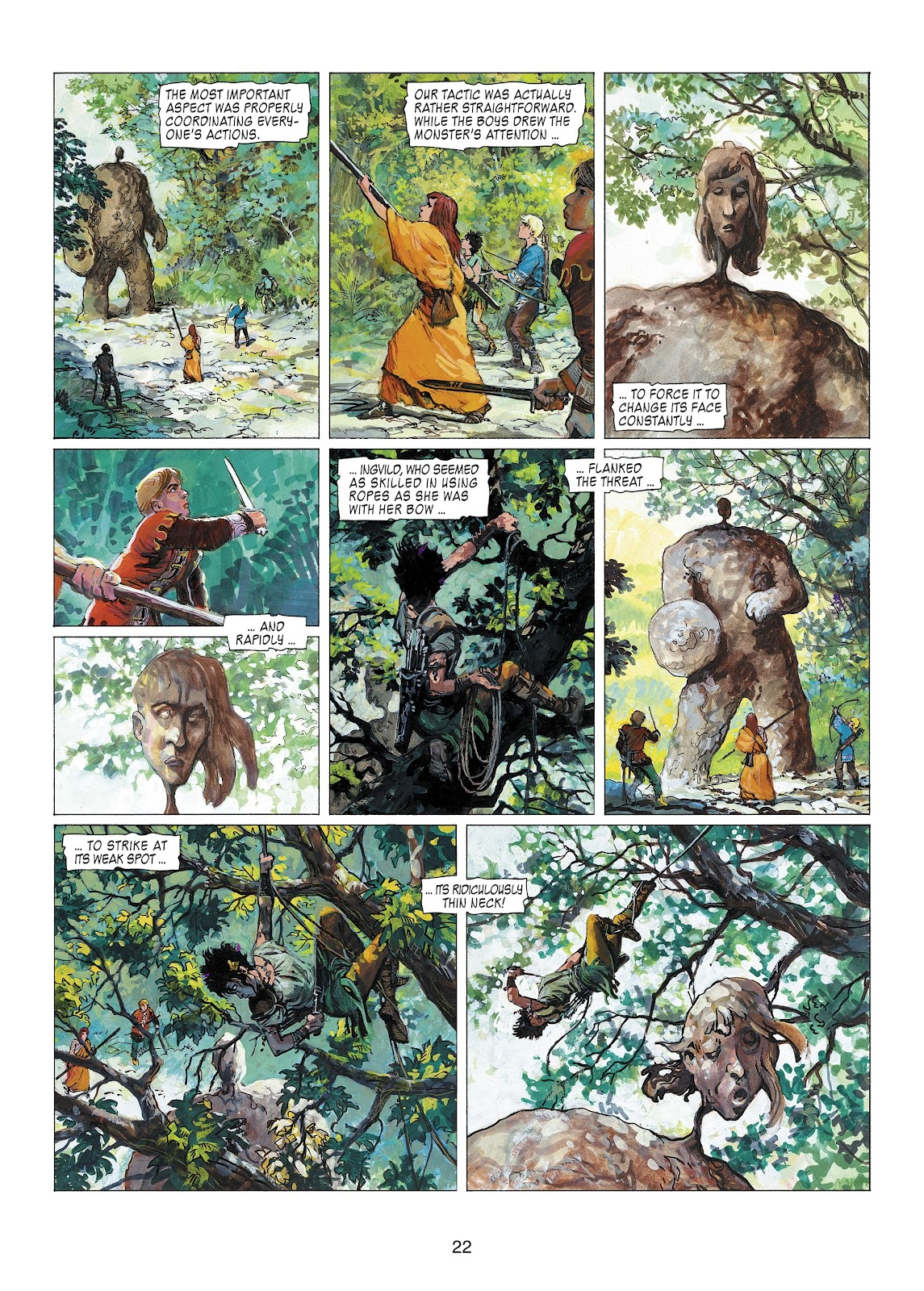Read online Thorgal comic -  Issue #22 - 24