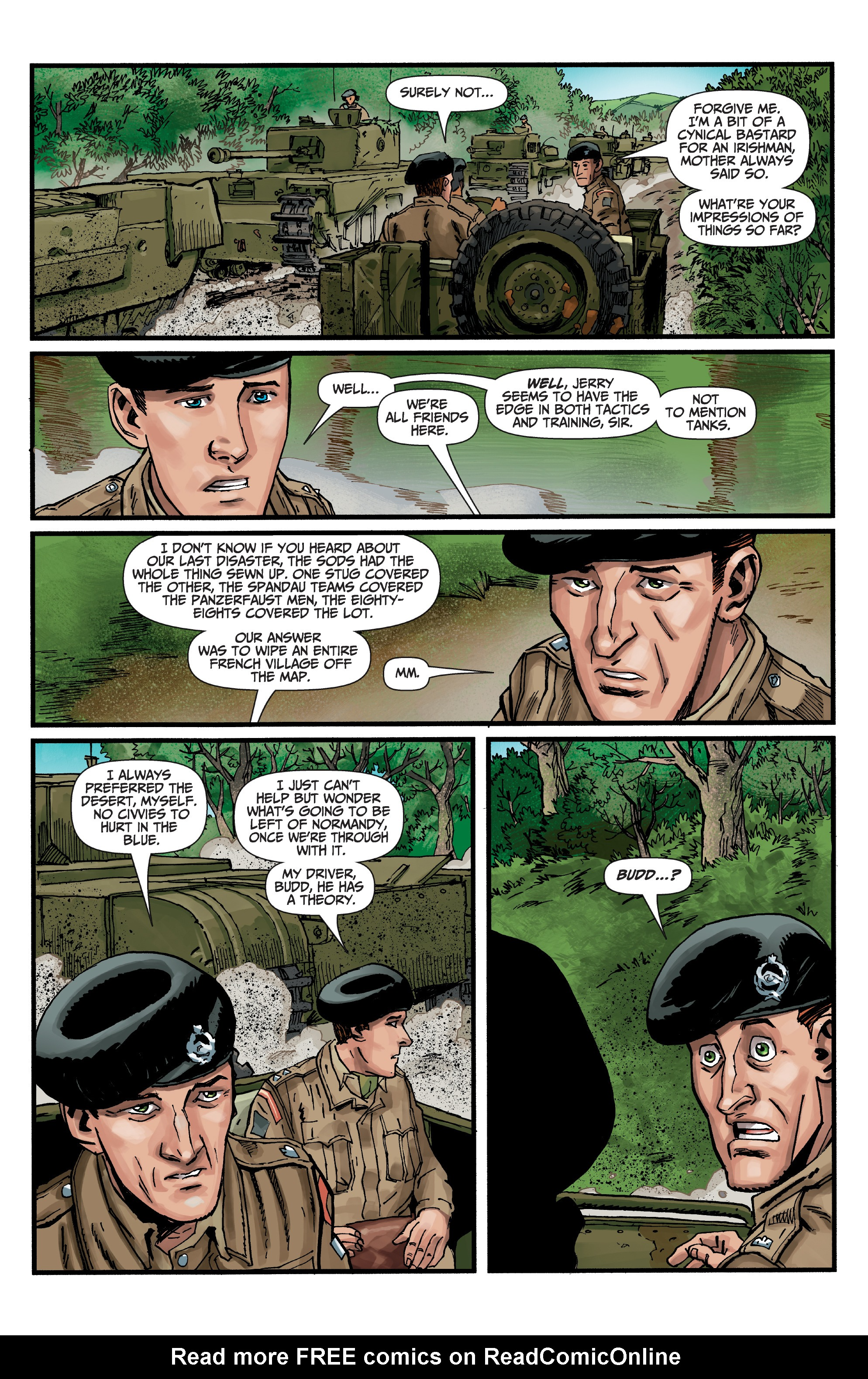 Read online World of Tanks comic -  Issue #5 - 4