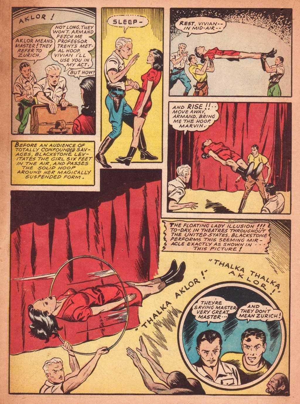 Read online Super-Magician Comics comic -  Issue #2 - 30