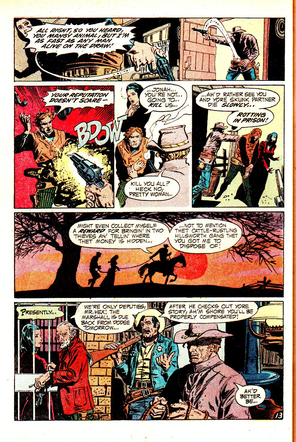 Read online All-Star Western (1970) comic -  Issue #11 - 18