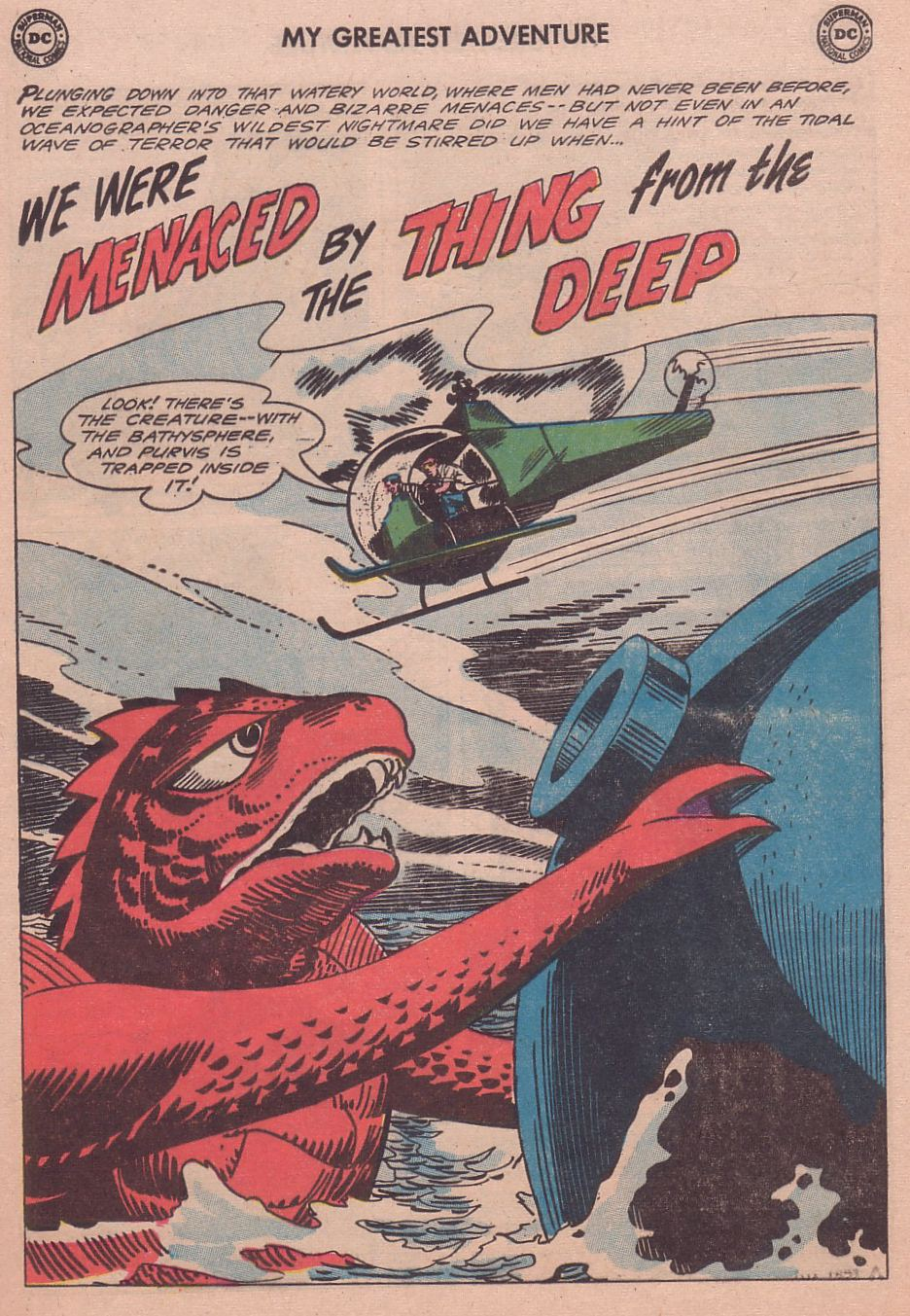 My Greatest Adventure (1955) issue 65 - Page 25