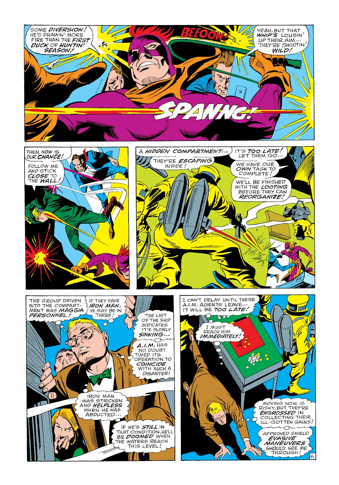 Read online Marvel Masterworks: The Invincible Iron Man comic -  Issue # TPB 4 (Part 3) - 18