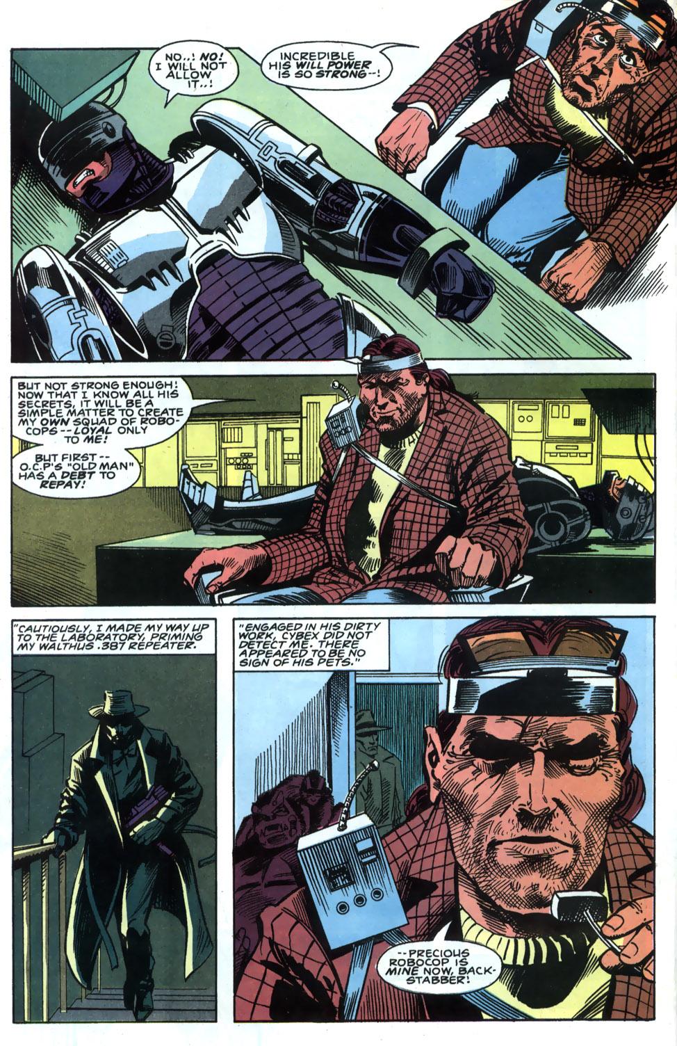 Read online Robocop (1990) comic -  Issue #4 - 12