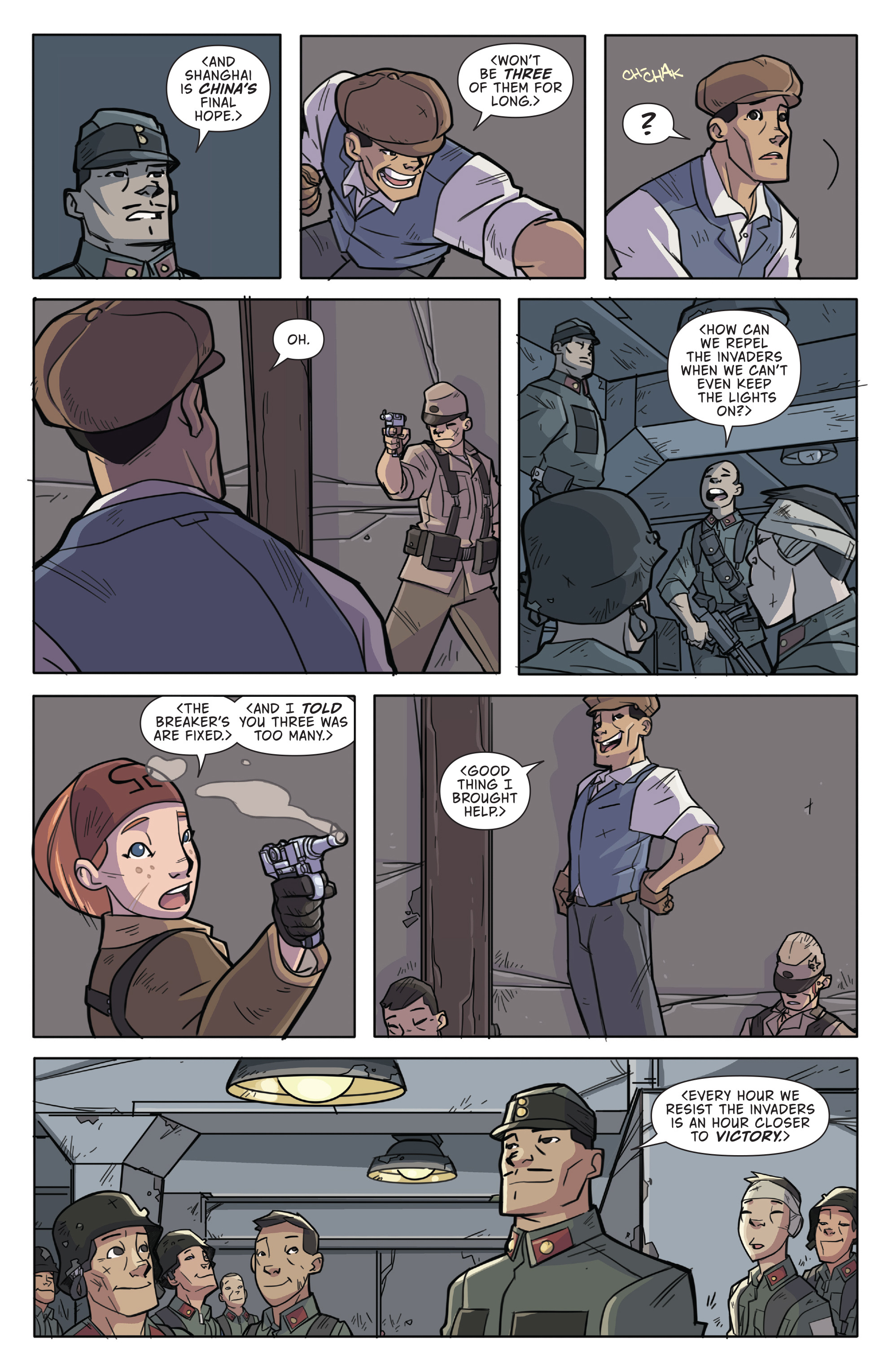 Read online Atomic Robo and the Temple of Od comic -  Issue #2 - 5