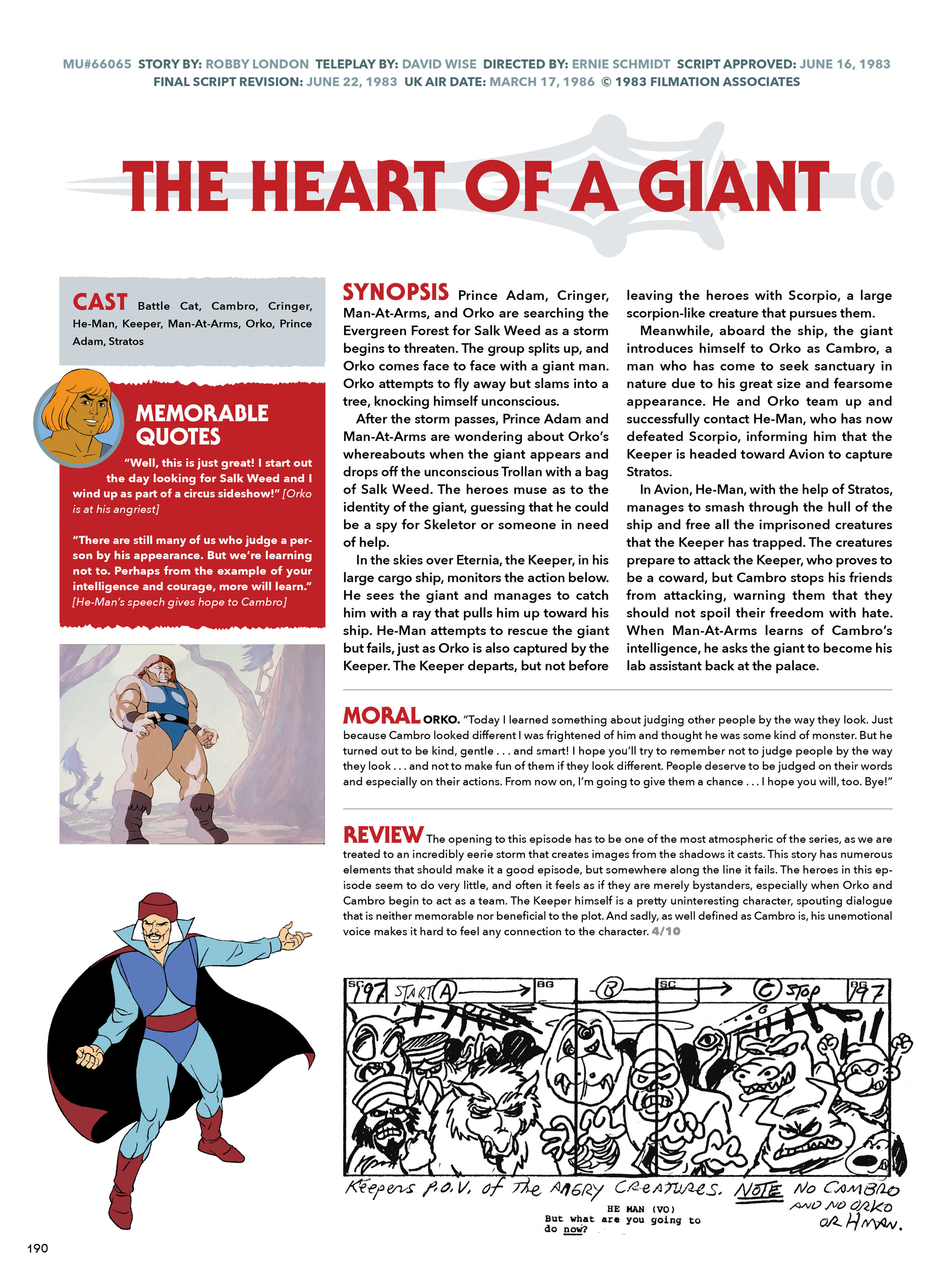 Read online He-Man and She-Ra: A Complete Guide to the Classic Animated Adventures comic -  Issue # TPB (Part 1) - 190