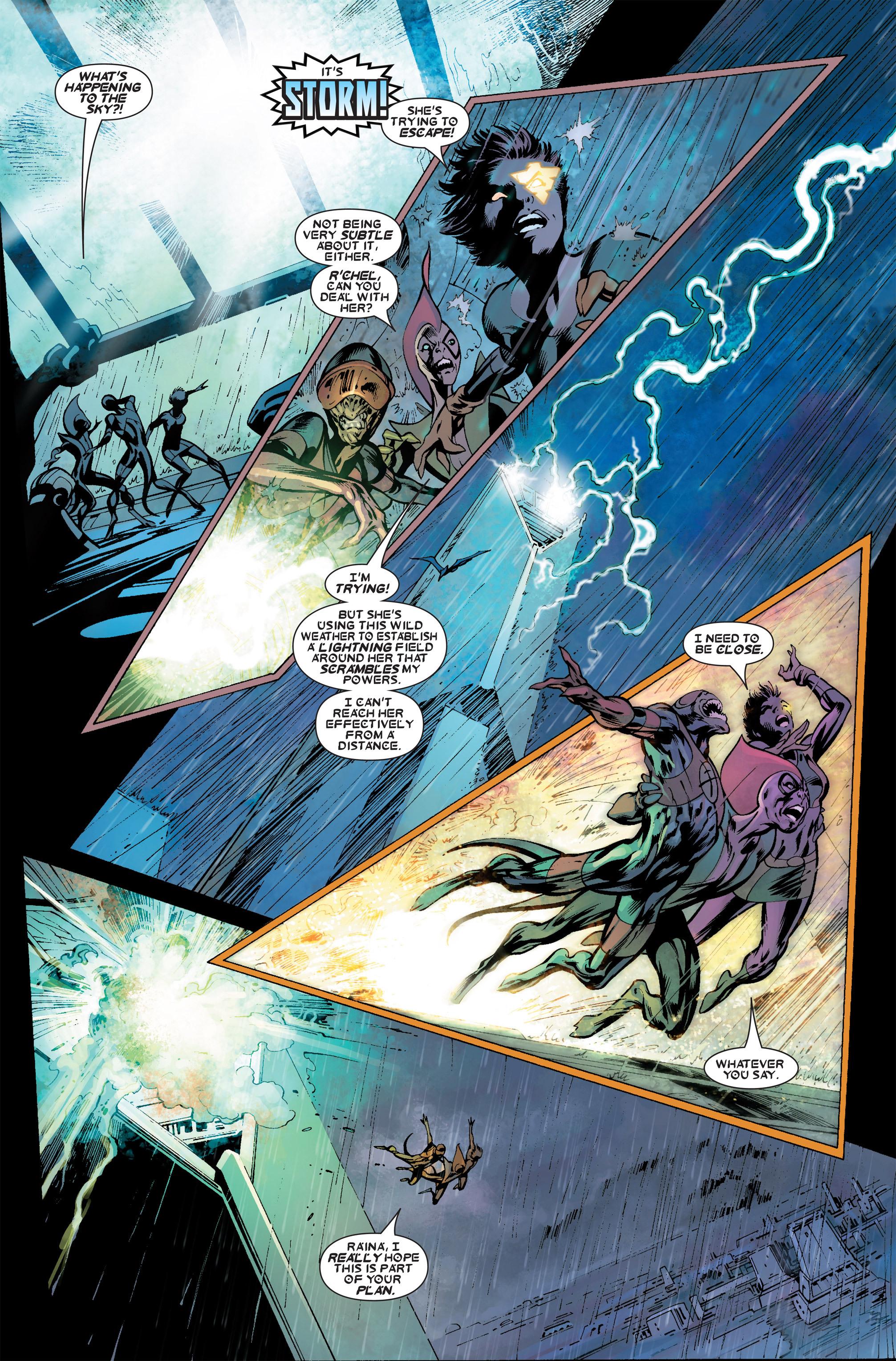 Read online Uncanny X-Men (1963) comic -  Issue #457 - 9