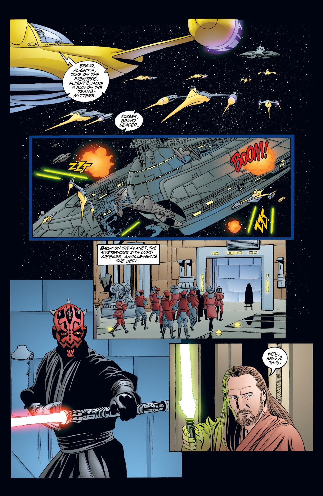 Read online Star Wars Legends: Rise of the Sith - Epic Collection comic -  Issue # TPB 2 (Part 4) - 19