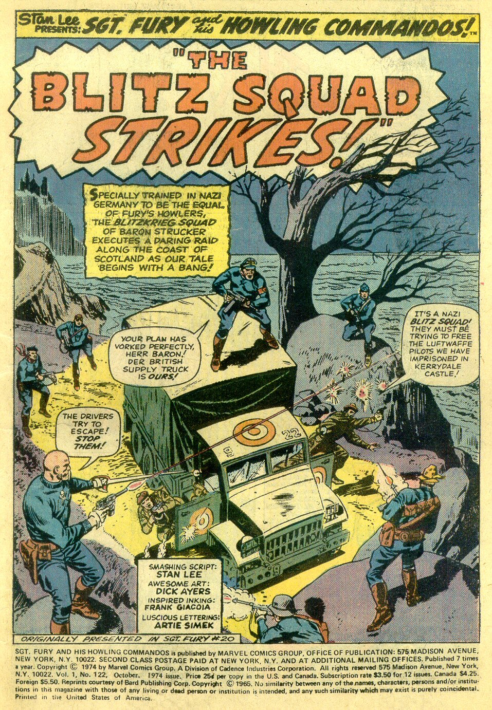 Read online Sgt. Fury comic -  Issue #122 - 3