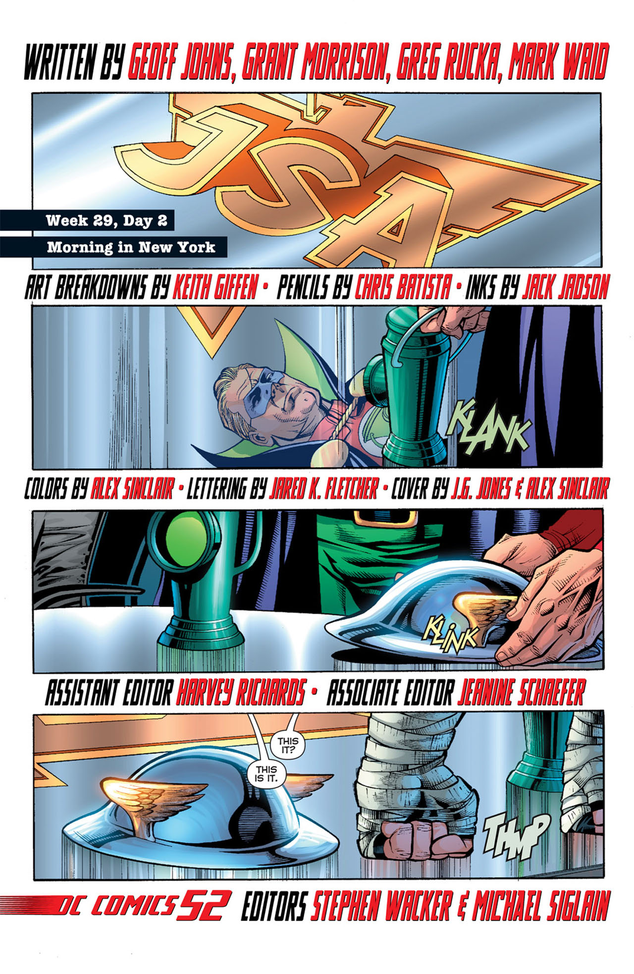 Read online 52 comic -  Issue #29 - 3
