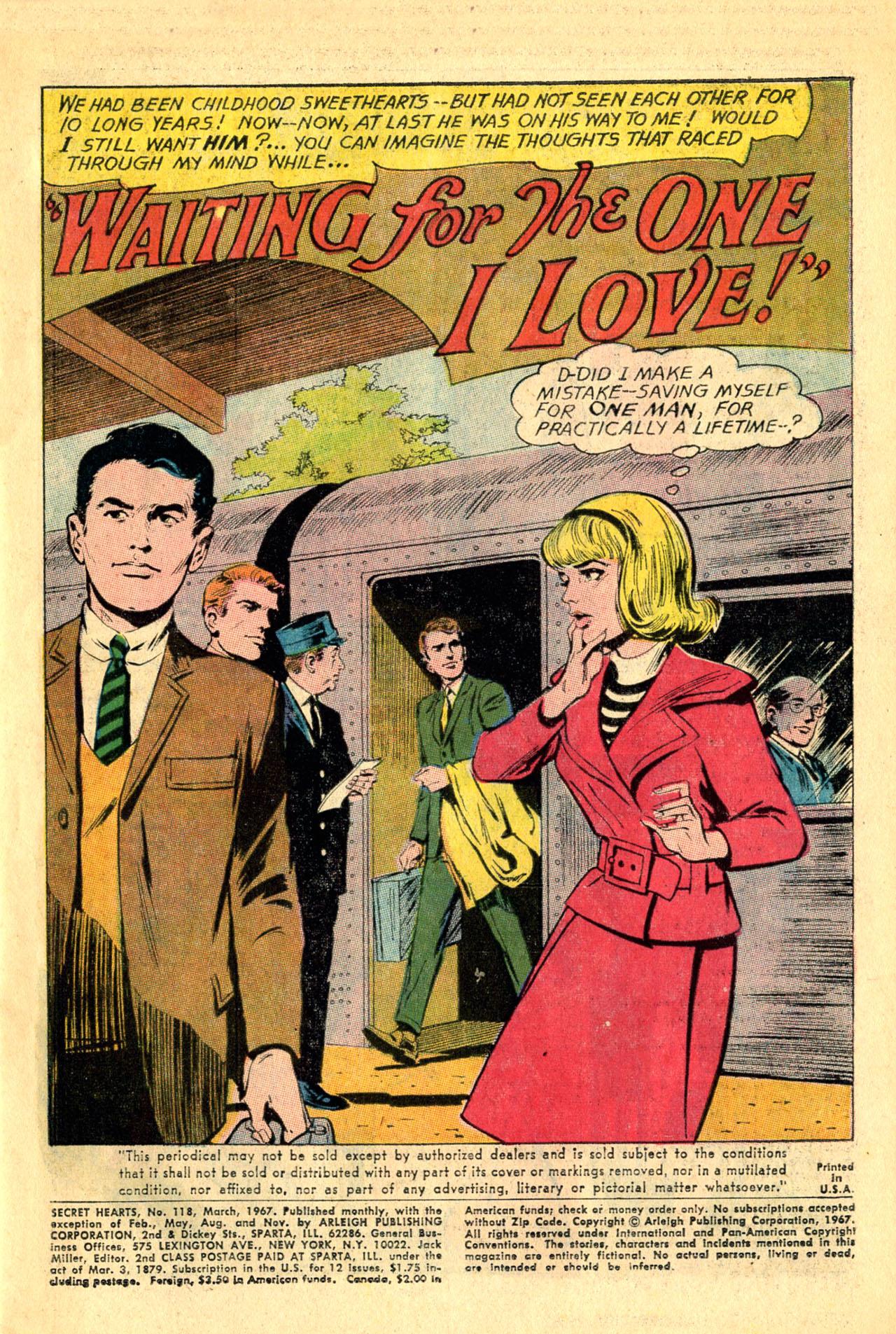 Read online Secret Hearts comic -  Issue #118 - 3