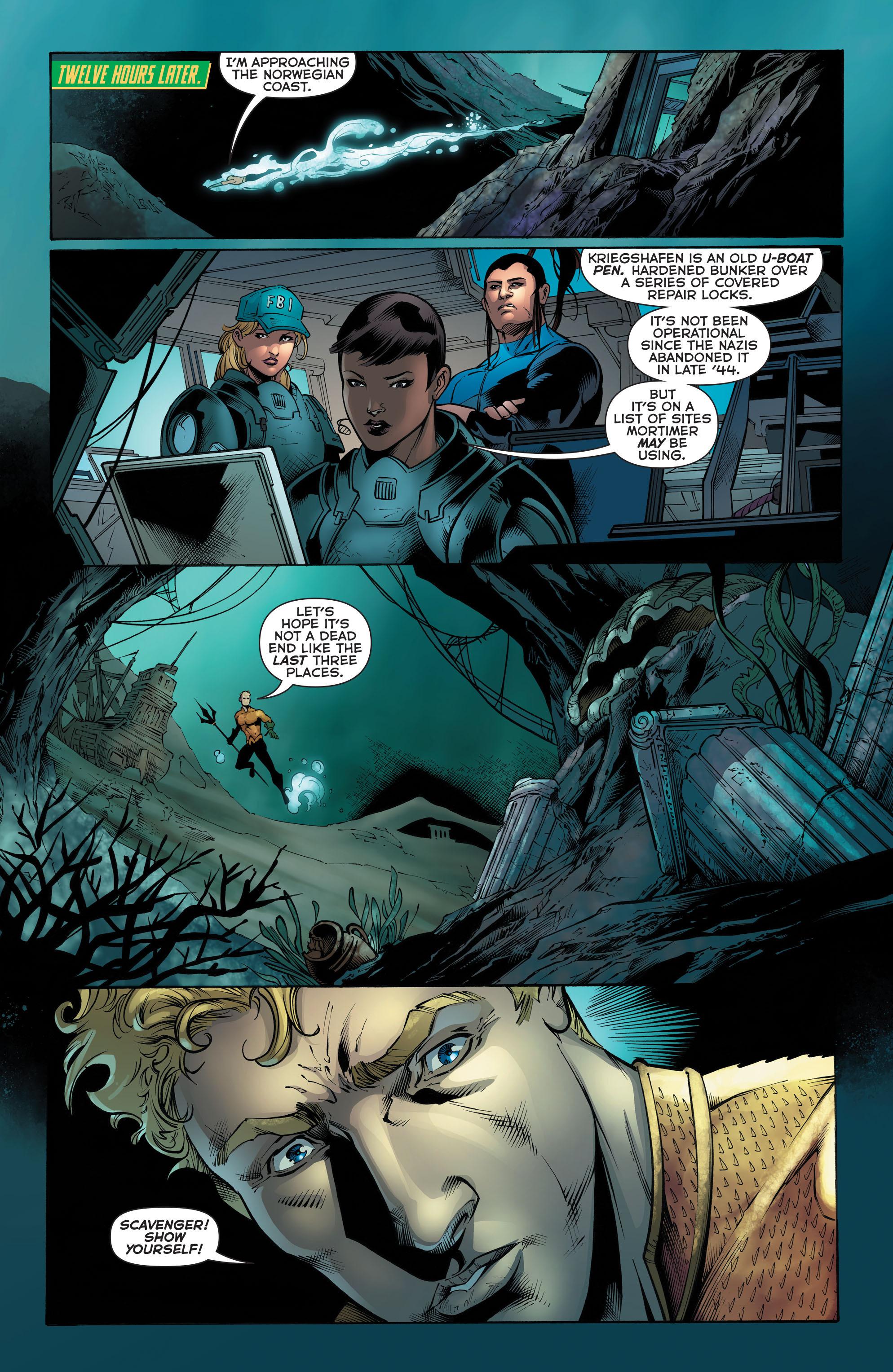 Read online Aquaman (2011) comic -  Issue #51 - 16