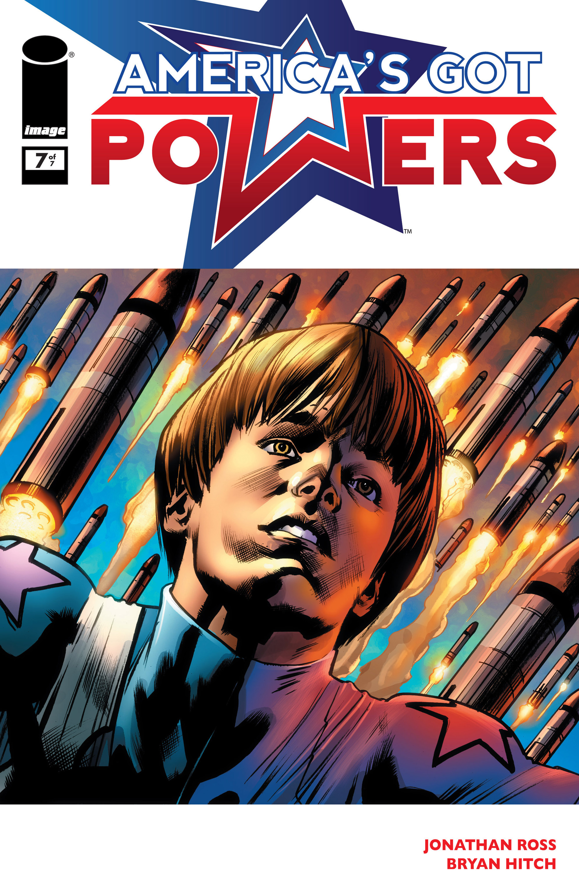 Read online America's Got Powers comic -  Issue #7 - 1