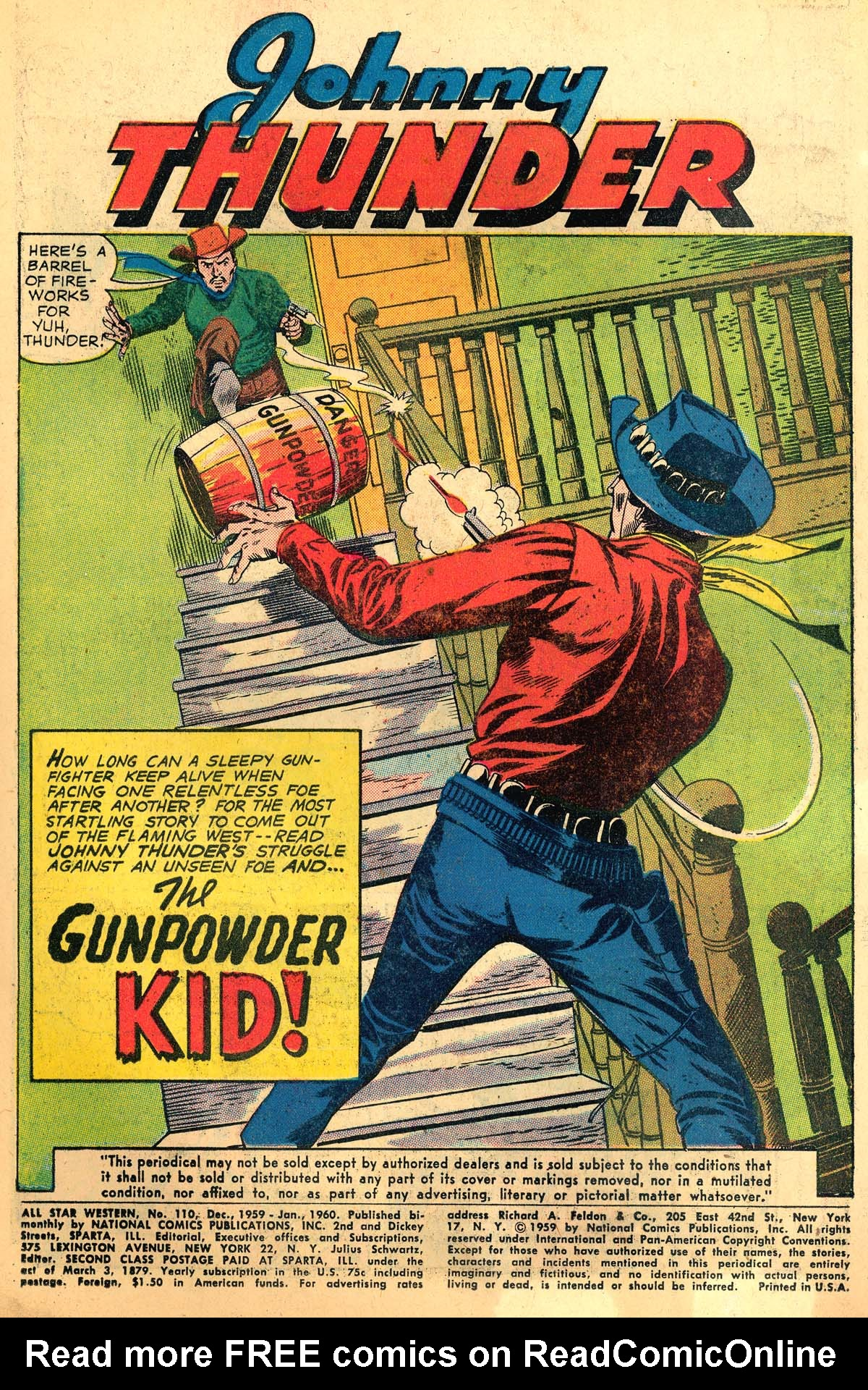 Read online All-Star Western (1951) comic -  Issue #110 - 3