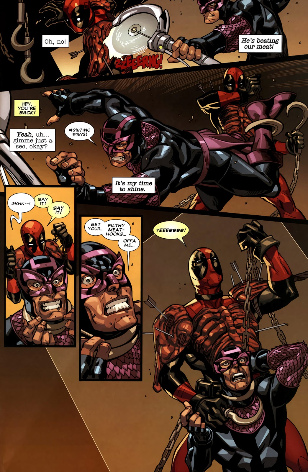Read online Deadpool (2008) comic -  Issue #11 - 23