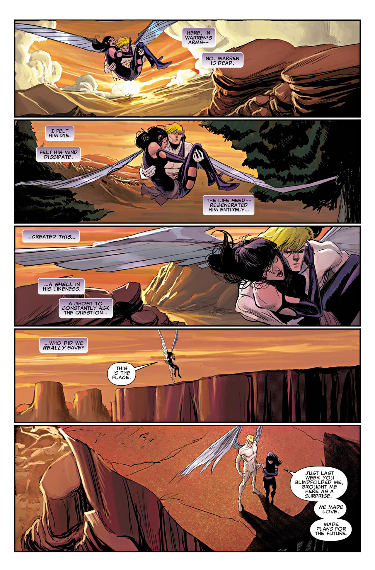Read online Uncanny X-Force (2010) comic -  Issue #19 - 12