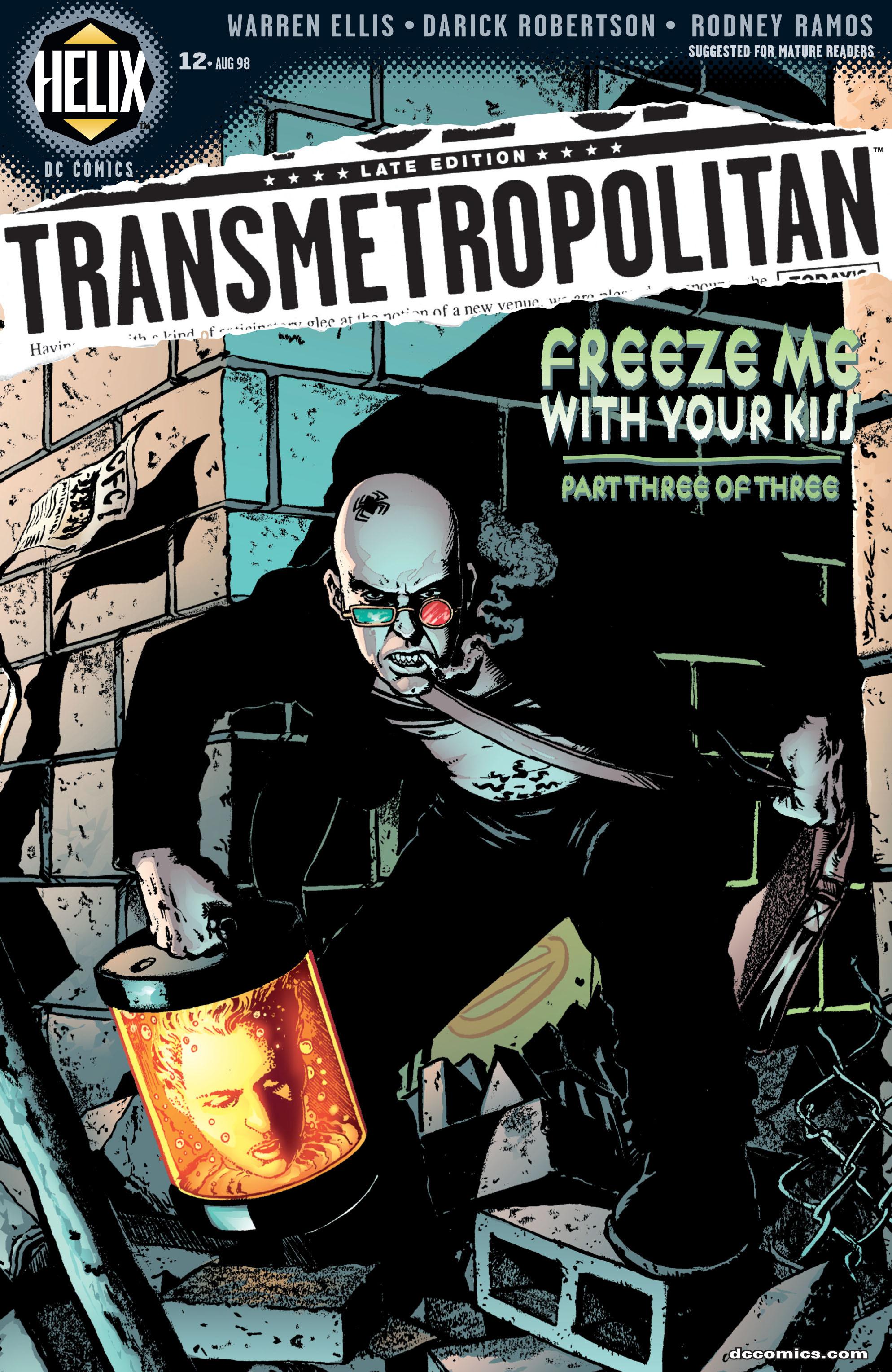 Read online Transmetropolitan comic -  Issue #12 - 1