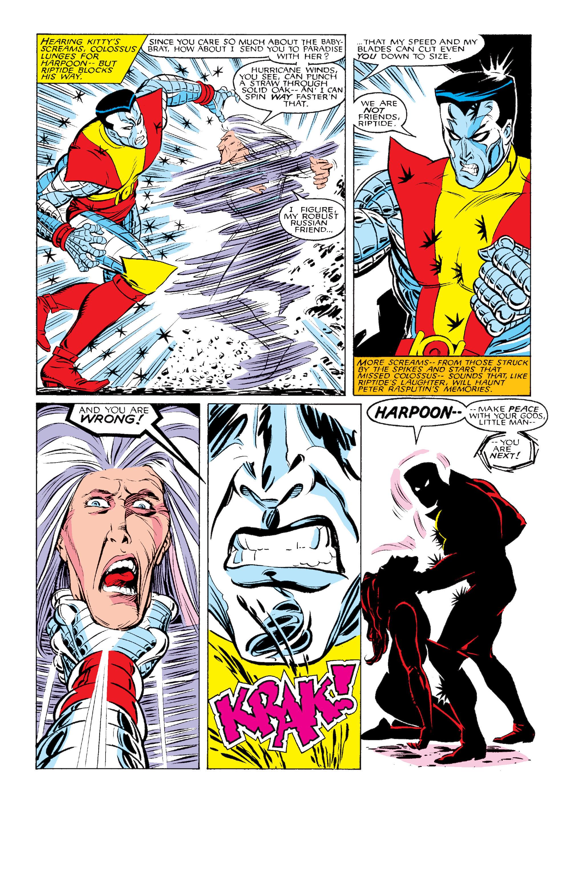Read online Uncanny X-Men (1963) comic -  Issue #211 - 23