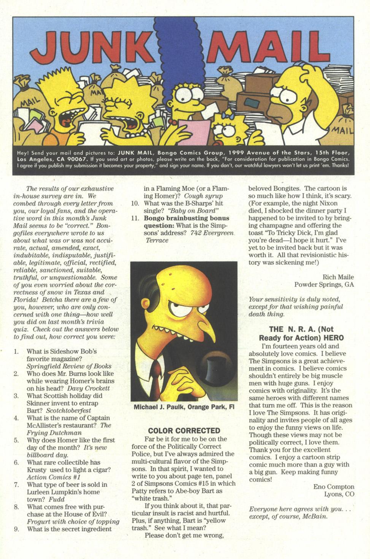 Read online Simpsons Comics comic -  Issue #18 - 24