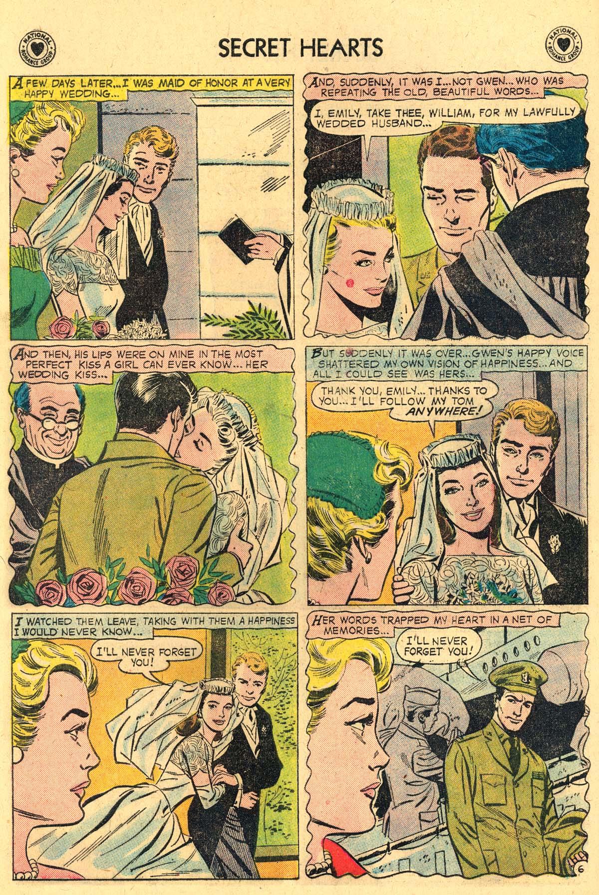 Read online Secret Hearts comic -  Issue #57 - 8