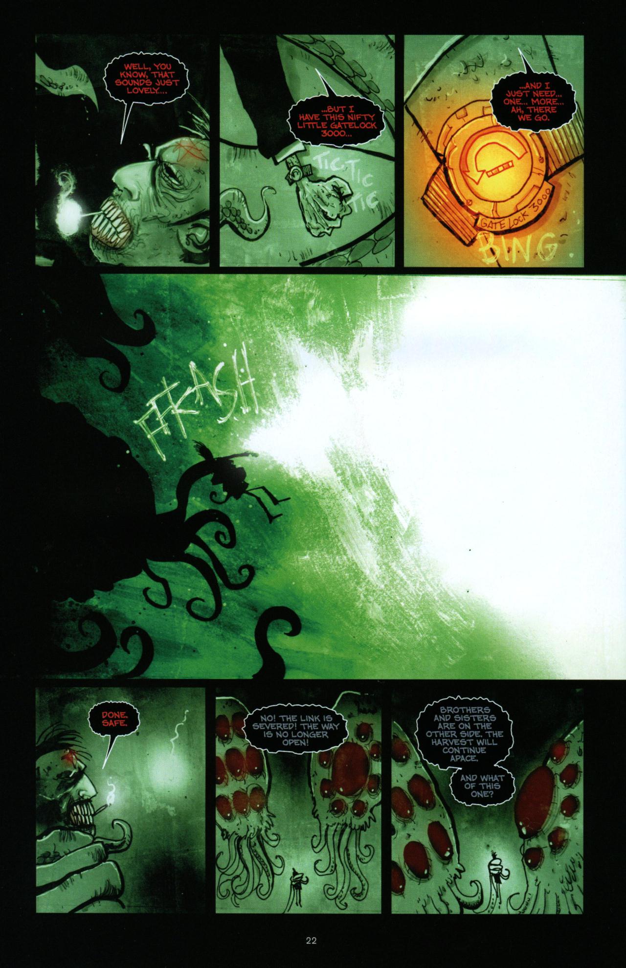 Read online Wormwood: Gentleman Corpse comic -  Issue #10 - 23