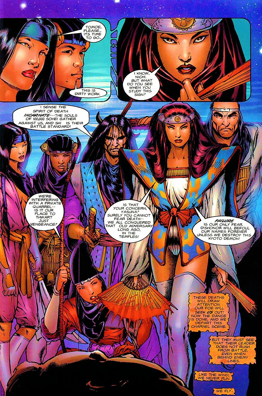 Shi: The Way of the Warrior Issue #6 #6 - English 10