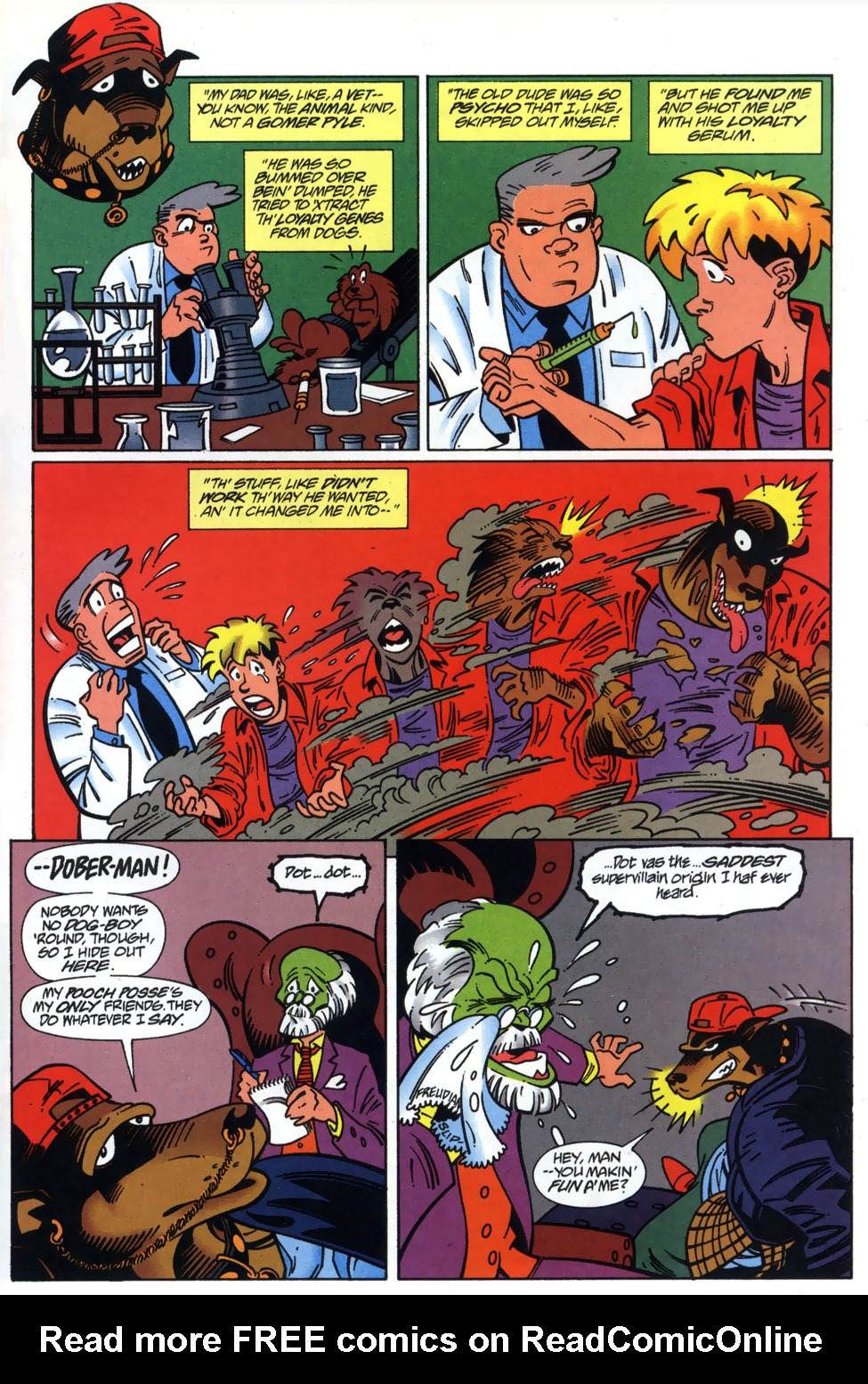 Read online Adventures Of The Mask comic -  Issue #3 - 17