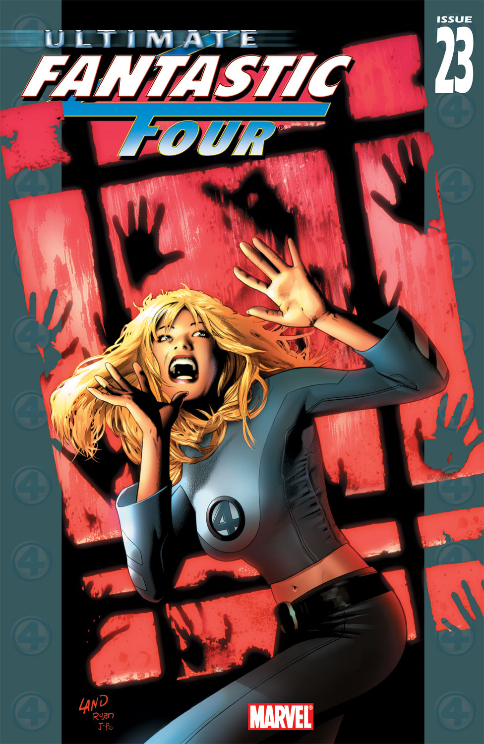 Read online Ultimate Fantastic Four (2004) comic -  Issue #23 - 1