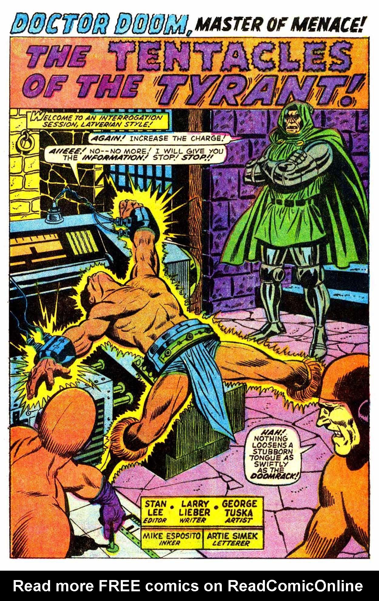 Read online Astonishing Tales (1970) comic -  Issue #6 - 2