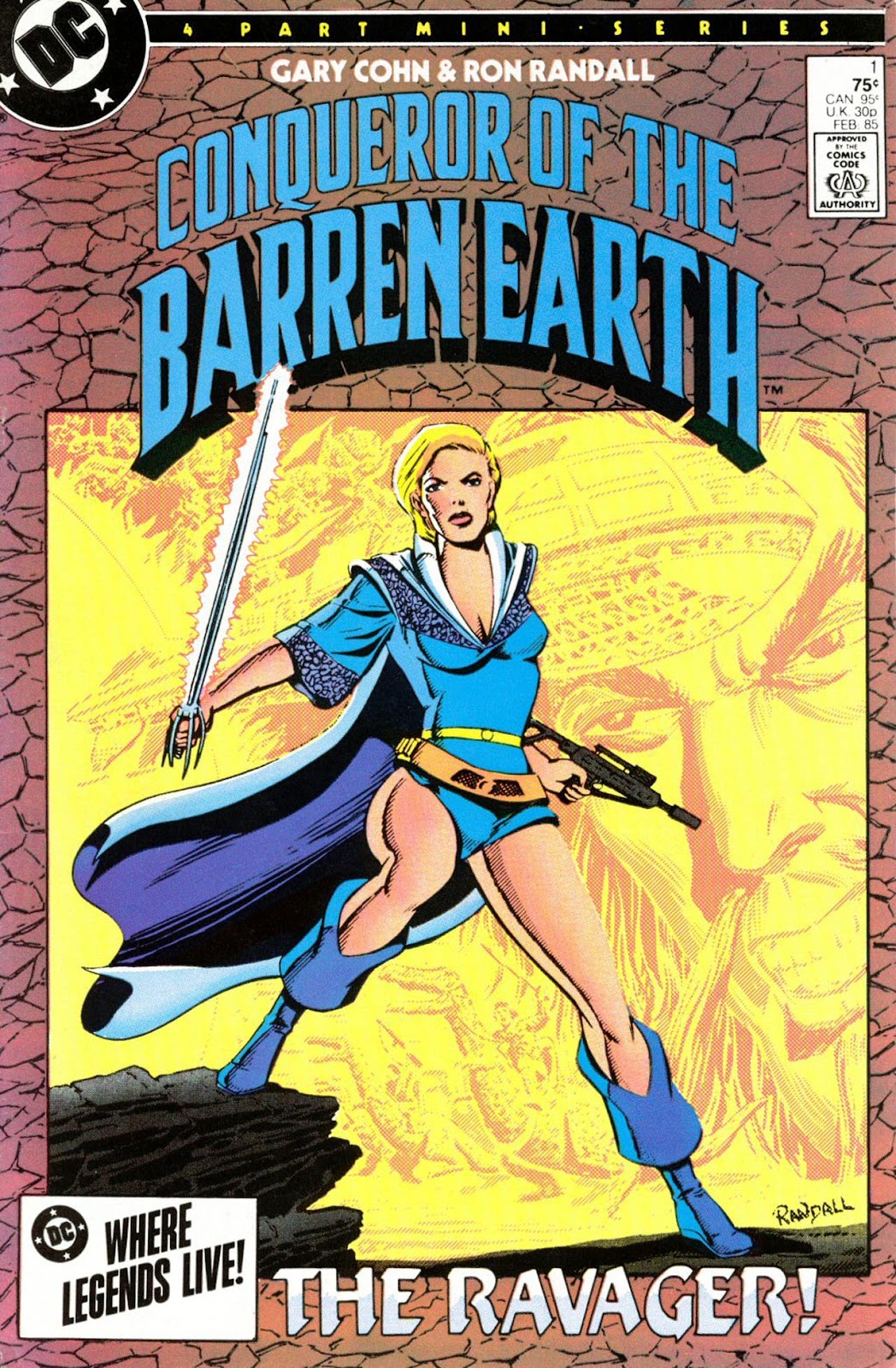 Conqueror of the Barren Earth 1 Page 1