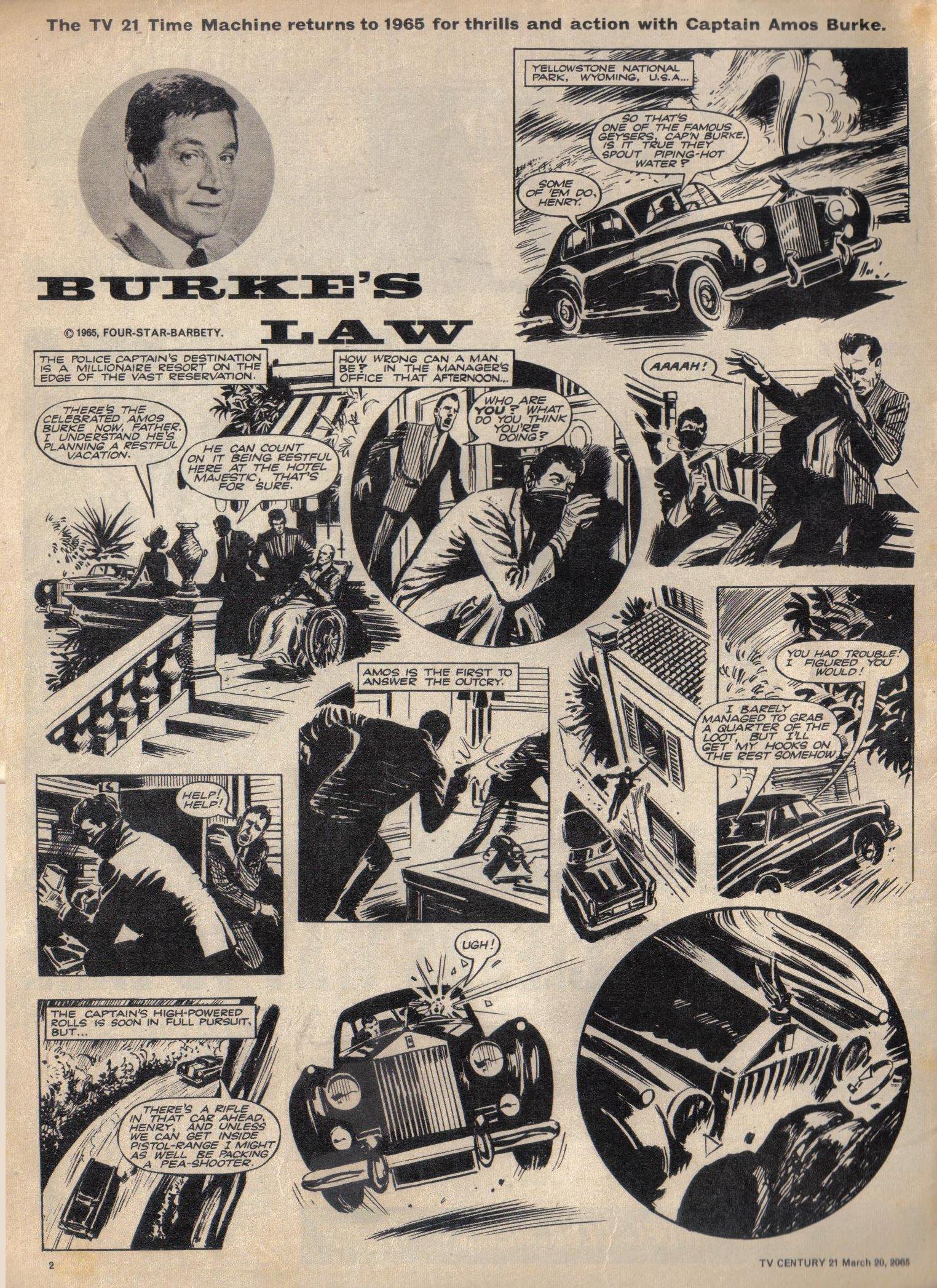 Read online TV Century 21 (TV 21) comic -  Issue #9 - 3