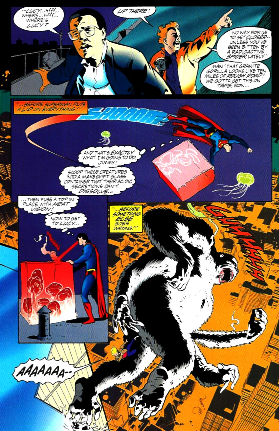 Read online Adventures of Superman (1987) comic -  Issue #537 - 19