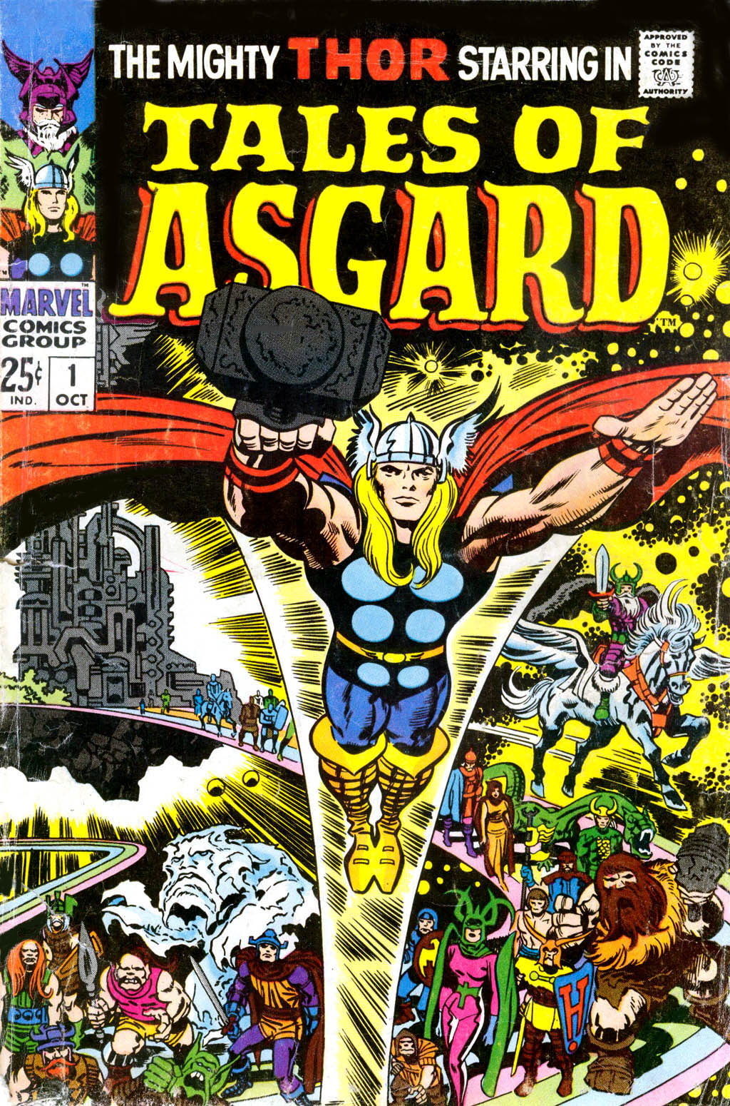 Tales of Asgard (1968) Full Page 1