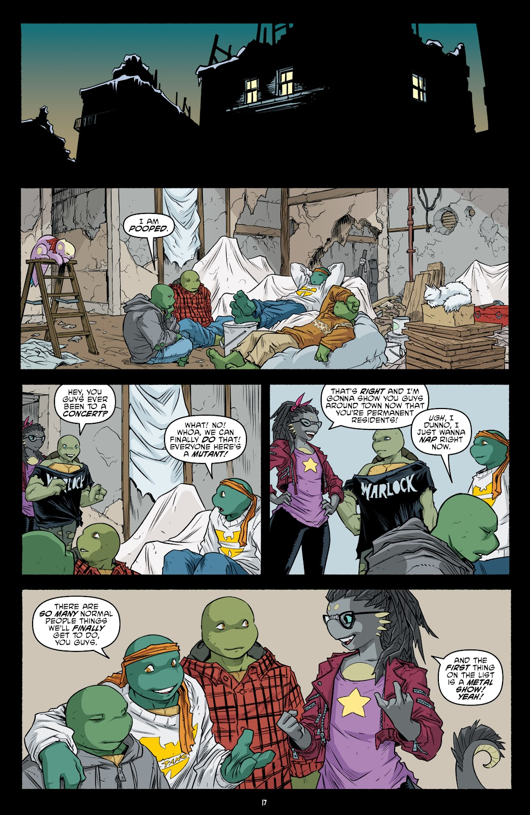 Read online Teenage Mutant Ninja Turtles (2011) comic -  Issue #104 - 19