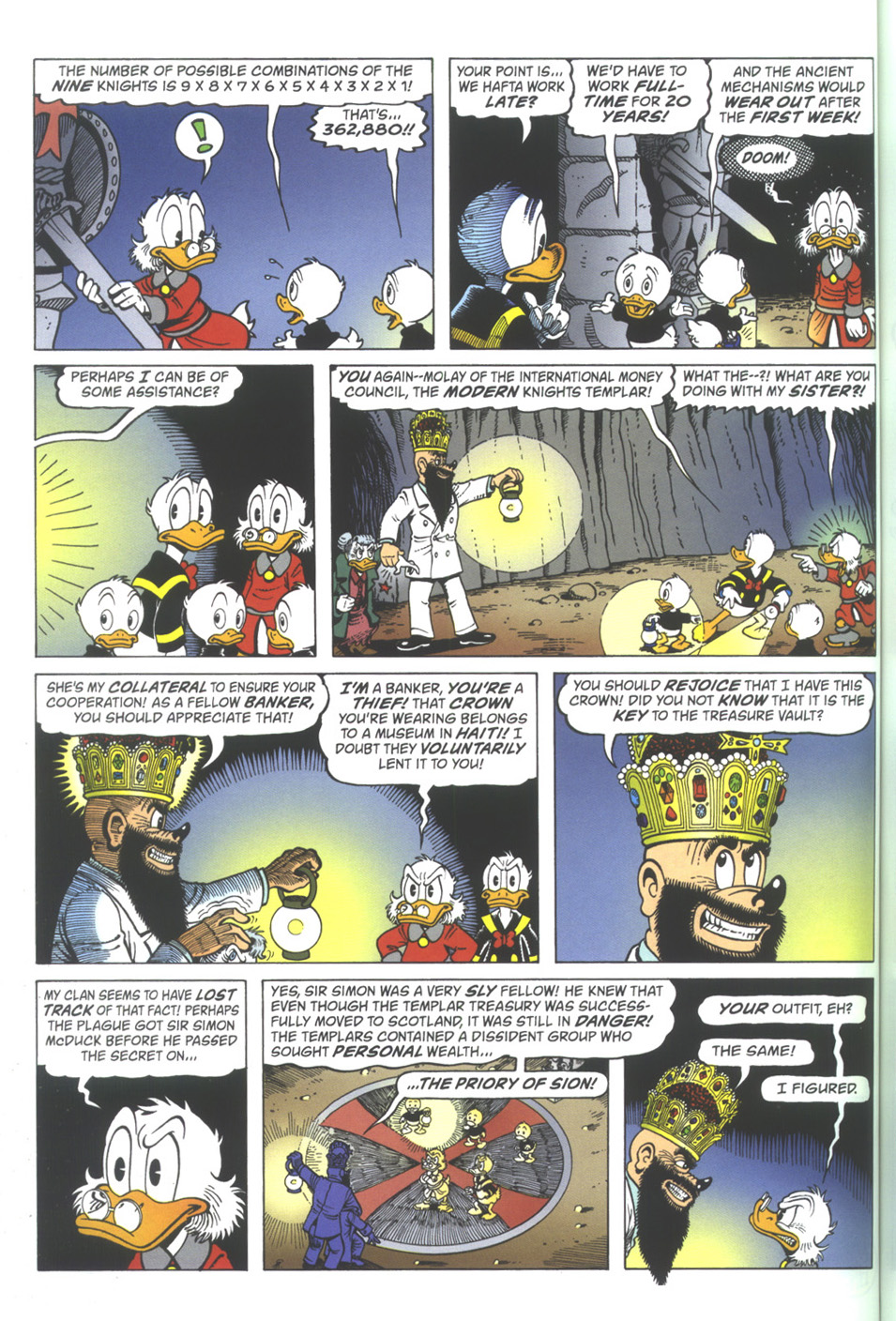 Read online Uncle Scrooge (1953) comic -  Issue #342 - 44