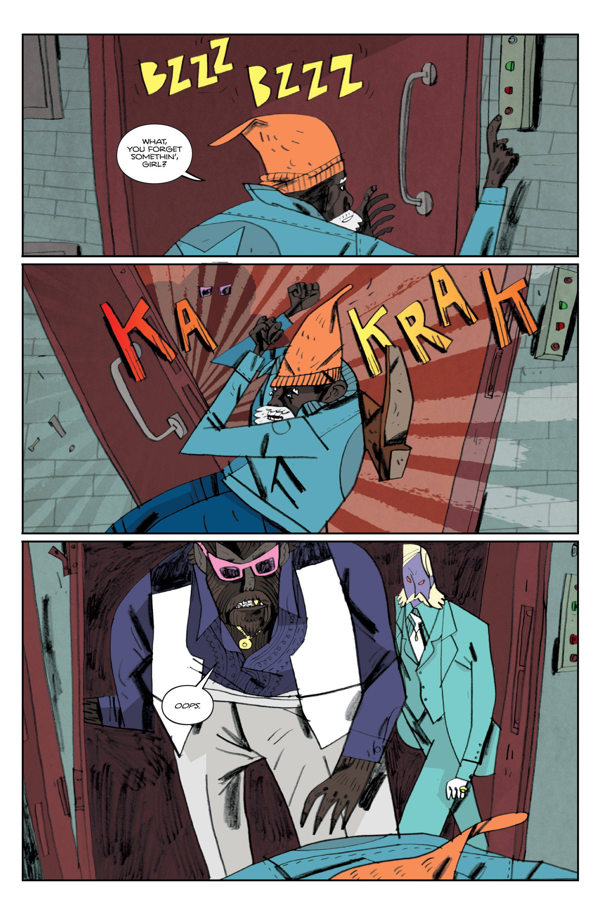 Read online Helena Crash comic -  Issue #3 - 18
