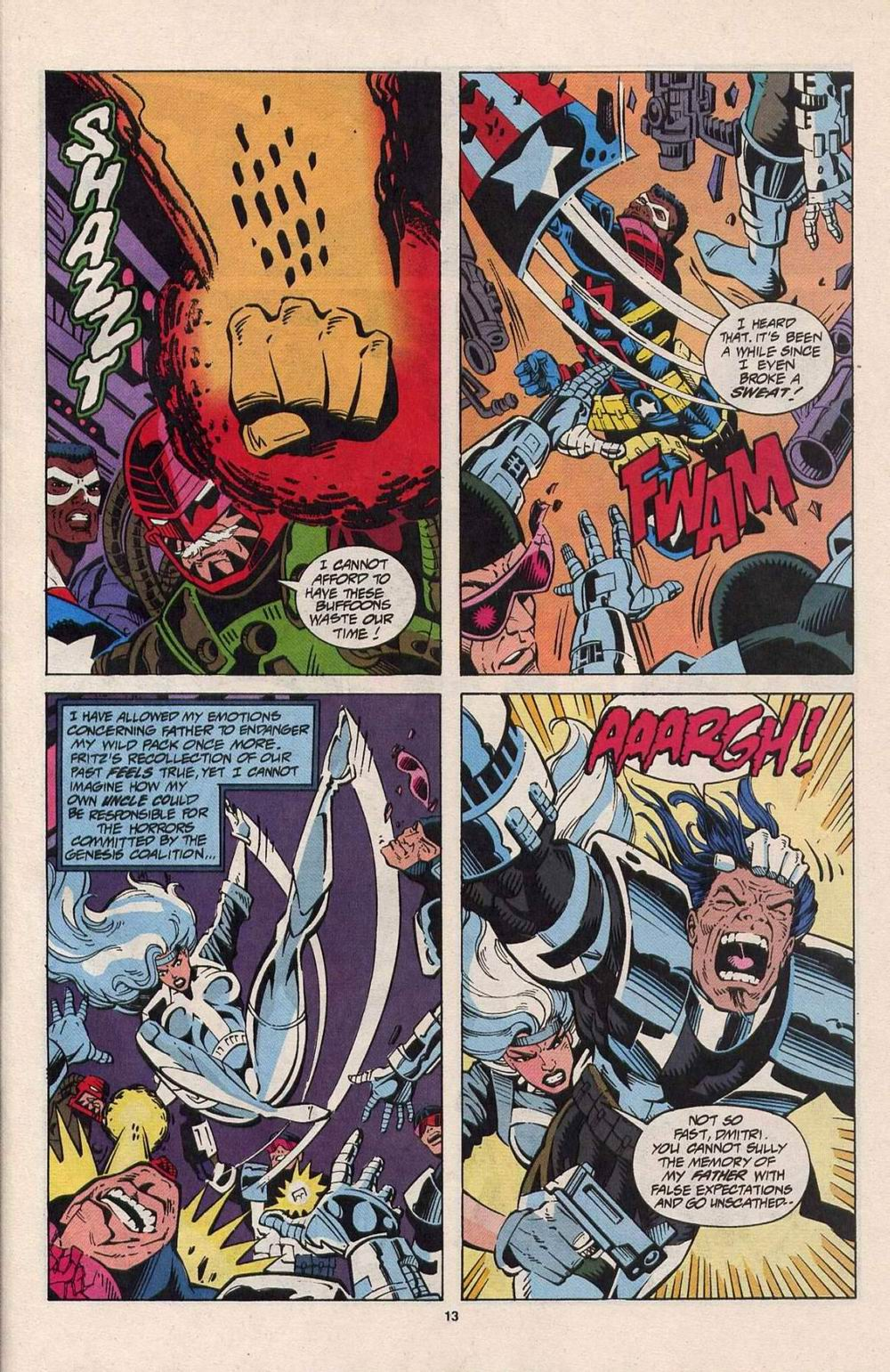 Read online Silver Sable and the Wild Pack comic -  Issue #25 - 10