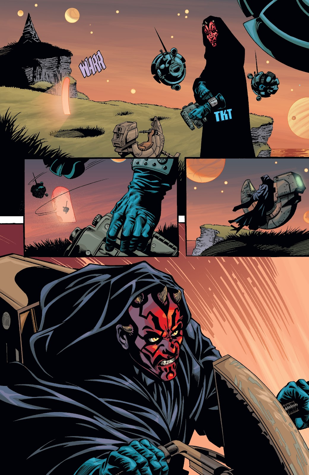 Read online Star Wars Legends: Rise of the Sith - Epic Collection comic -  Issue # TPB 2 (Part 2) - 97