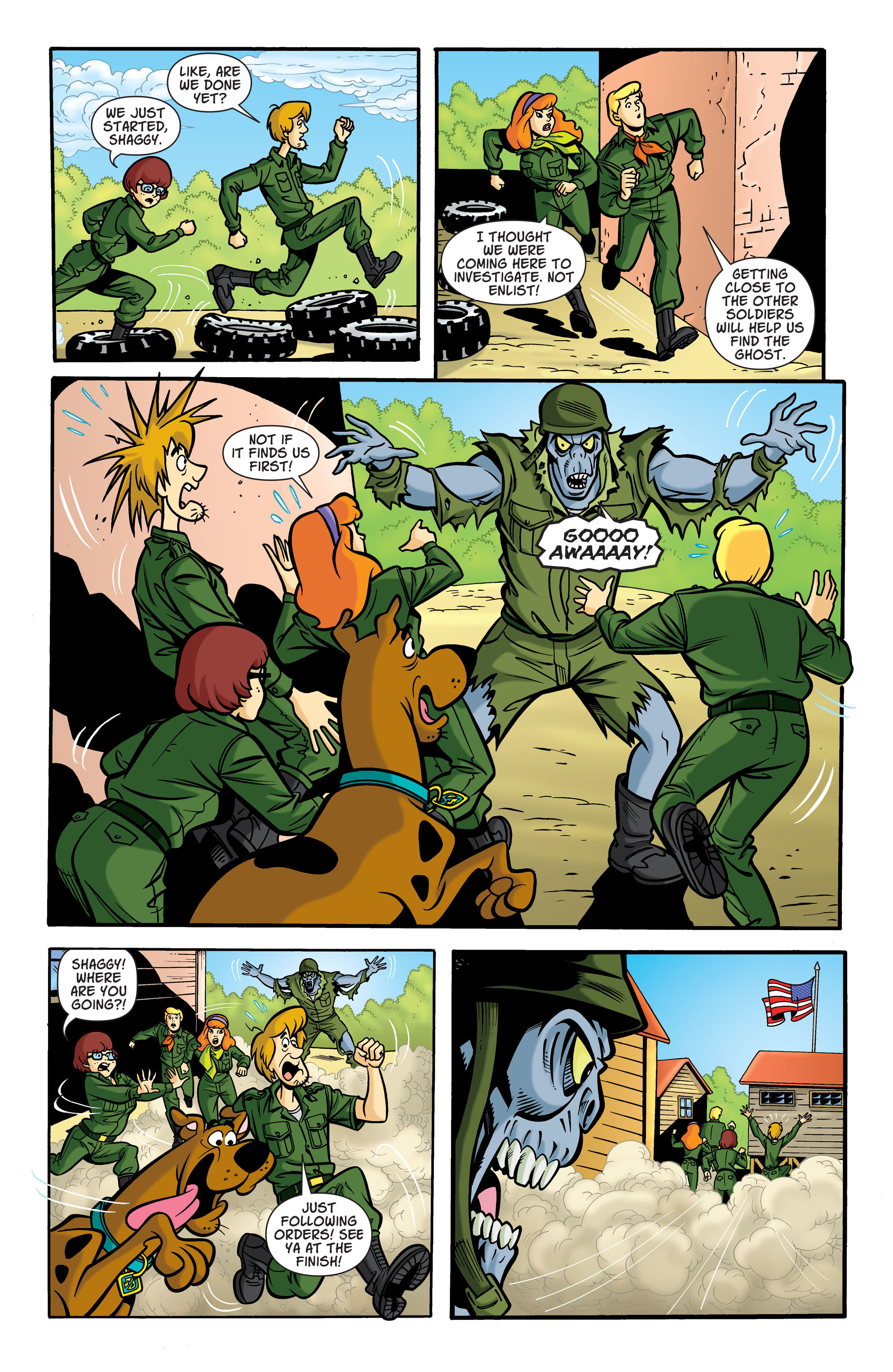 Read online Scooby-Doo: Where Are You? comic -  Issue #71 - 4