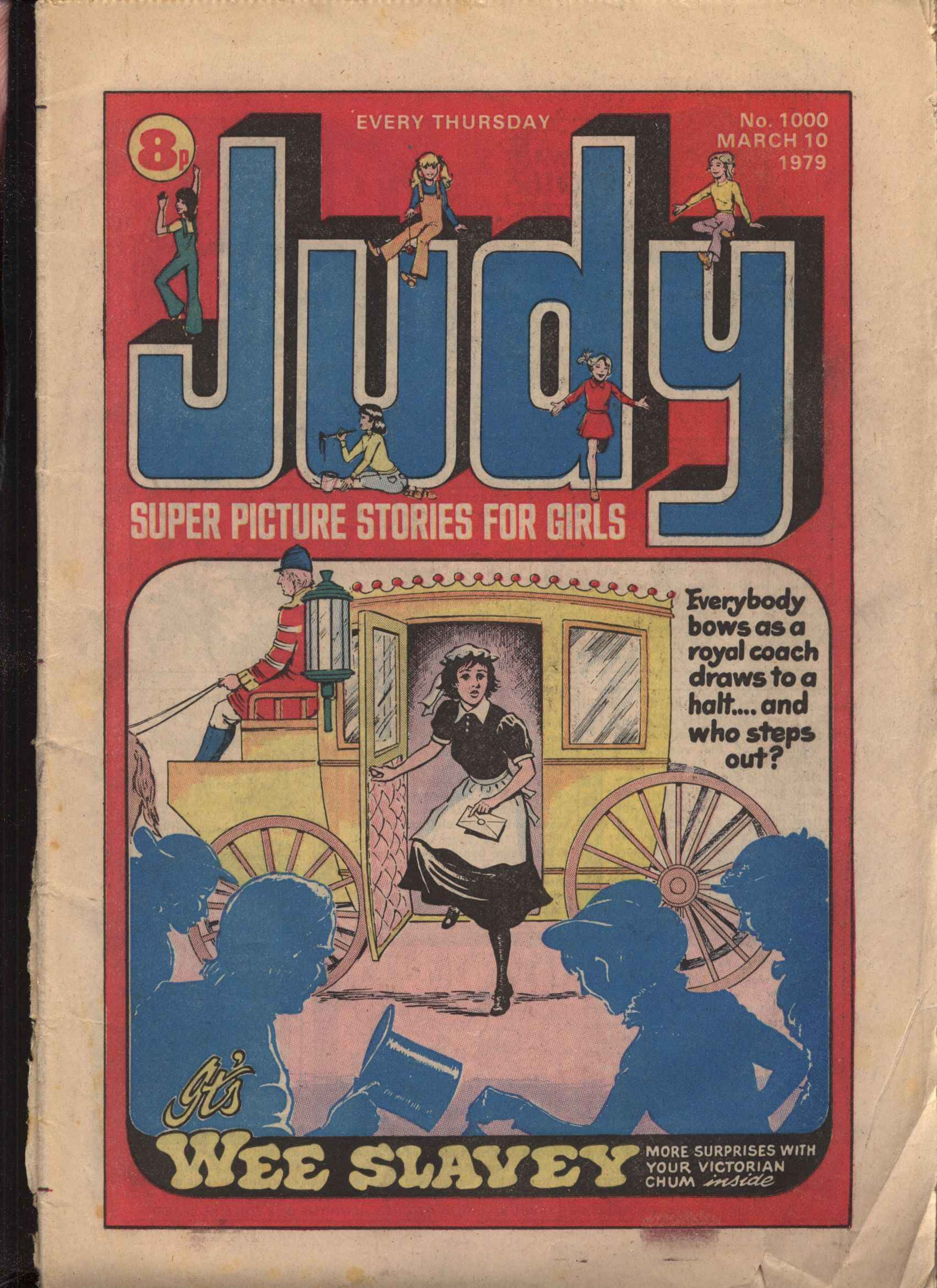 Read online Judy comic -  Issue #1000 - 1