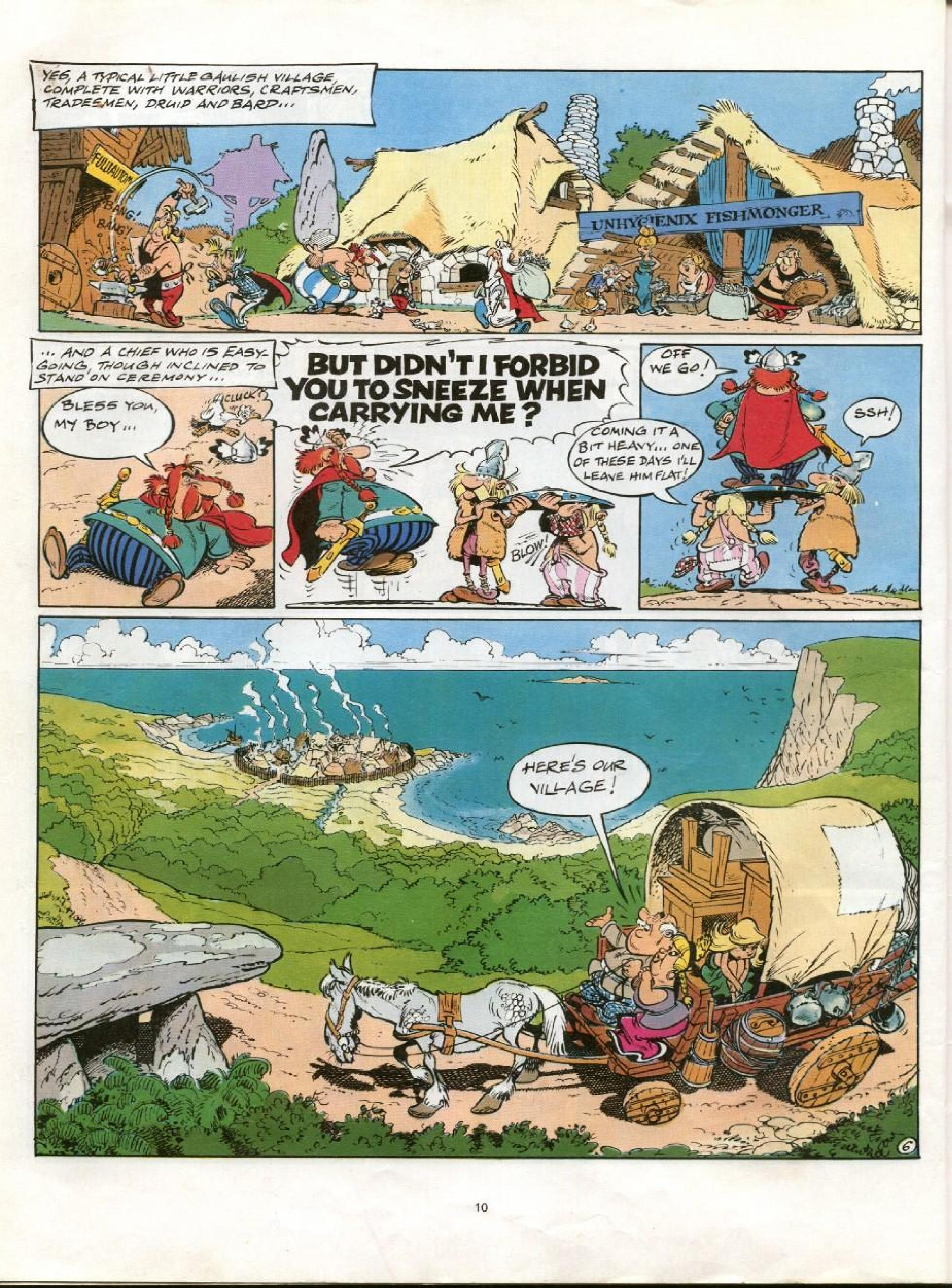 Read online Asterix comic -  Issue #21 - 7