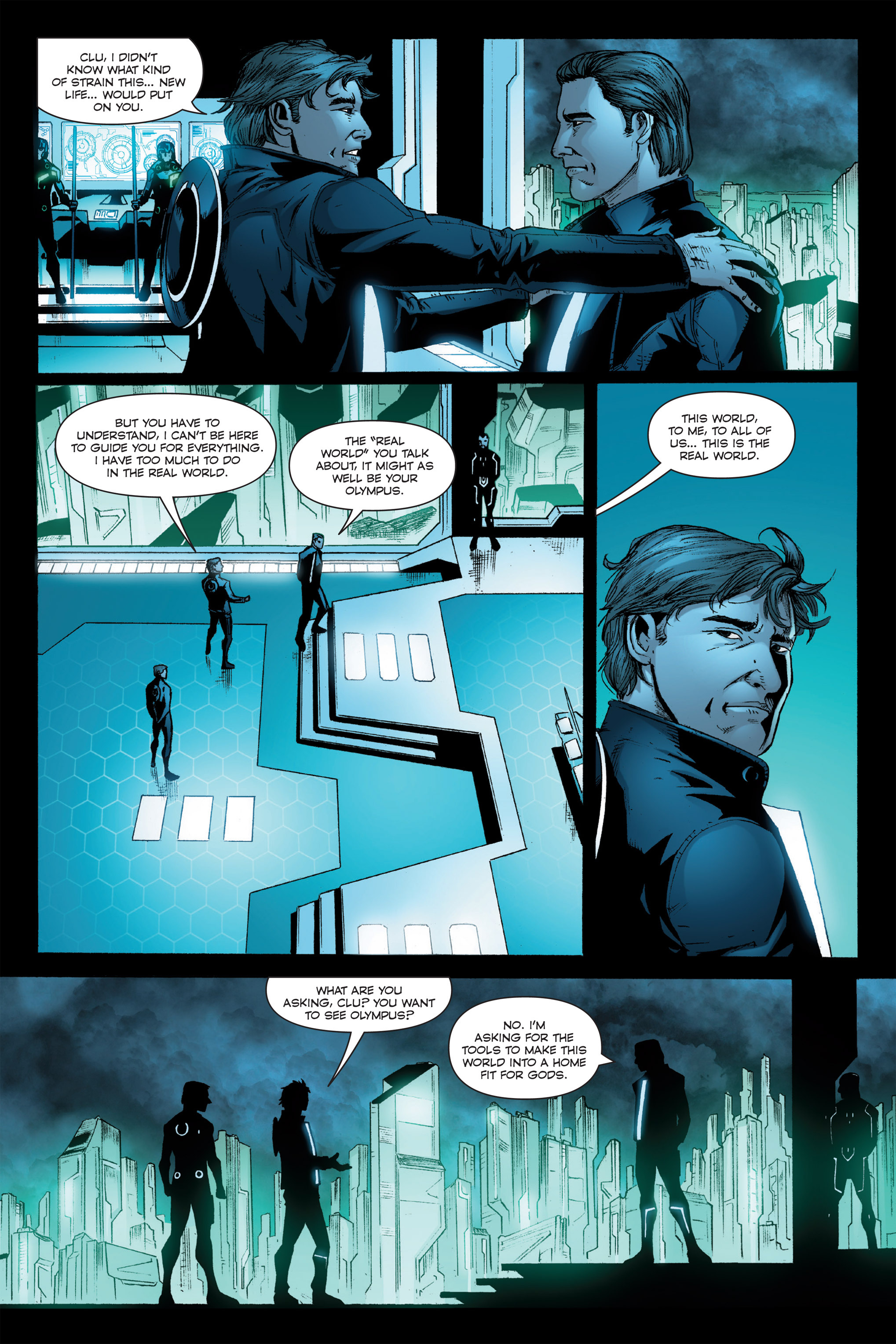 Read online TRON: Betrayal comic -  Issue # TPB - 55