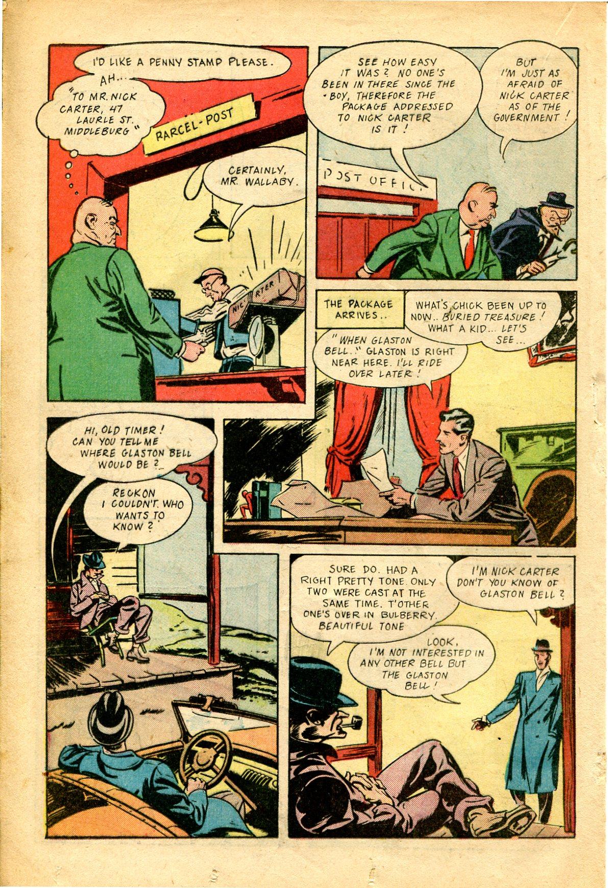 Read online Shadow Comics comic -  Issue #51 - 29