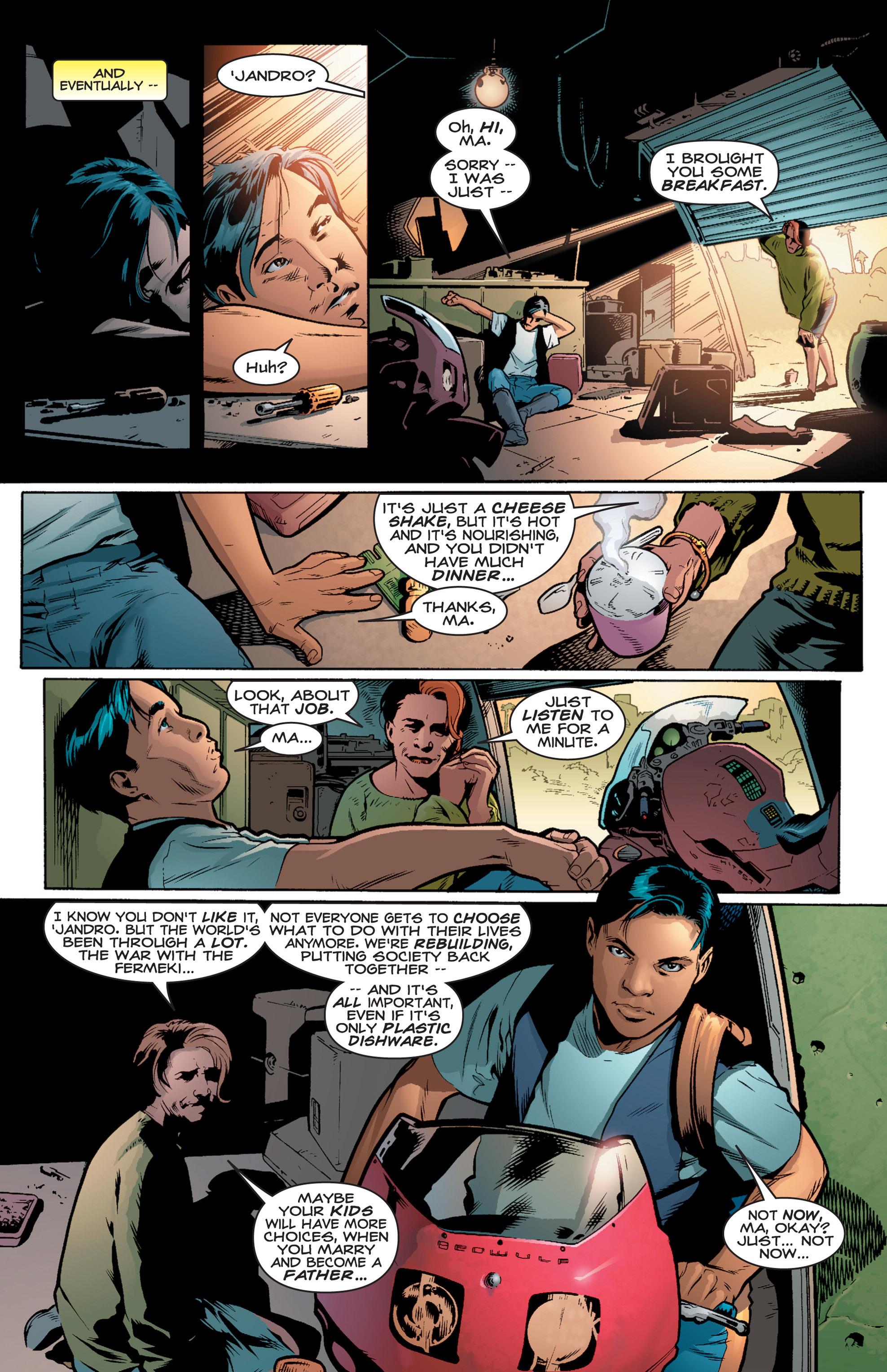Read online Shockrockets comic -  Issue # TPB - 13