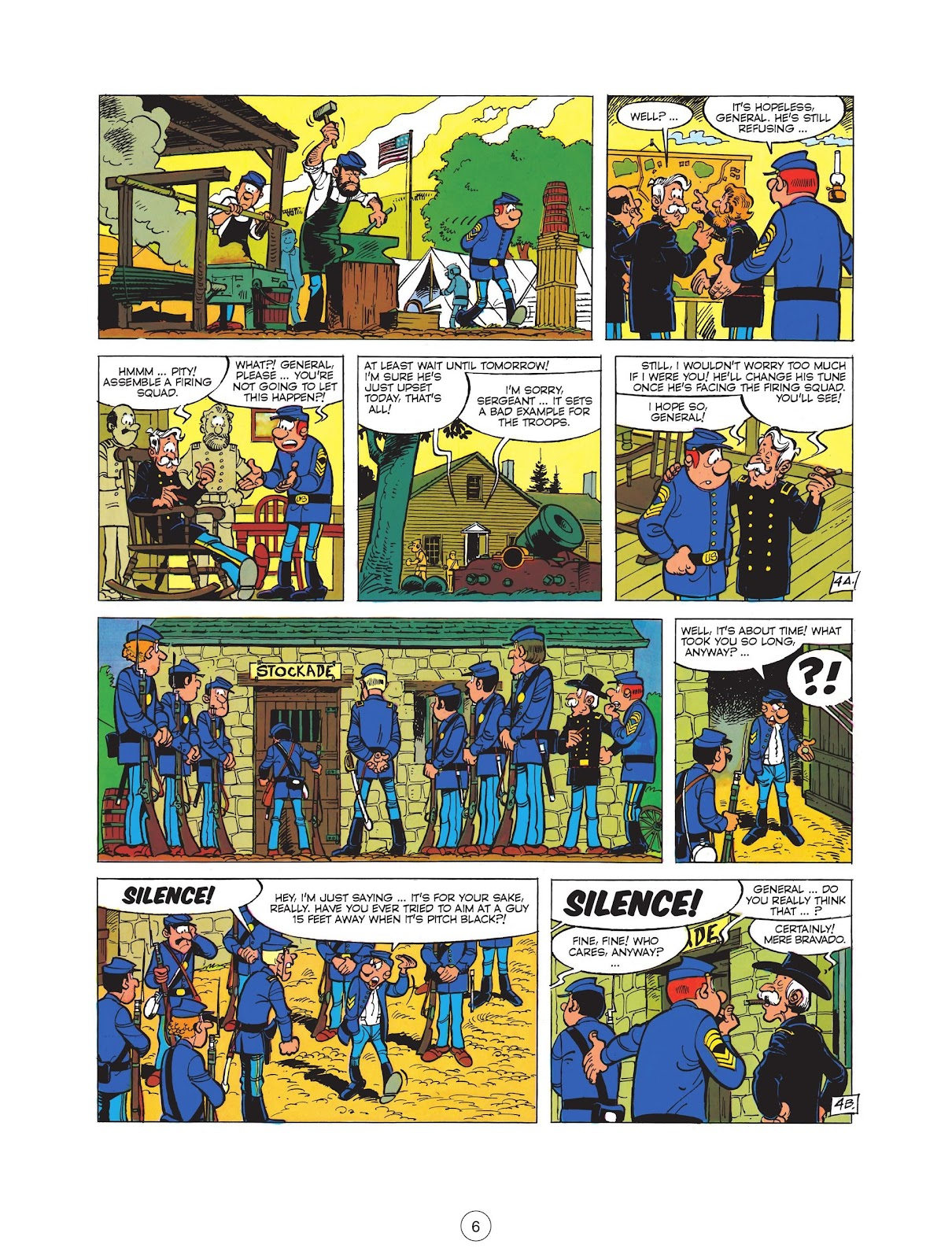 Read online The Bluecoats comic -  Issue #12 - 8