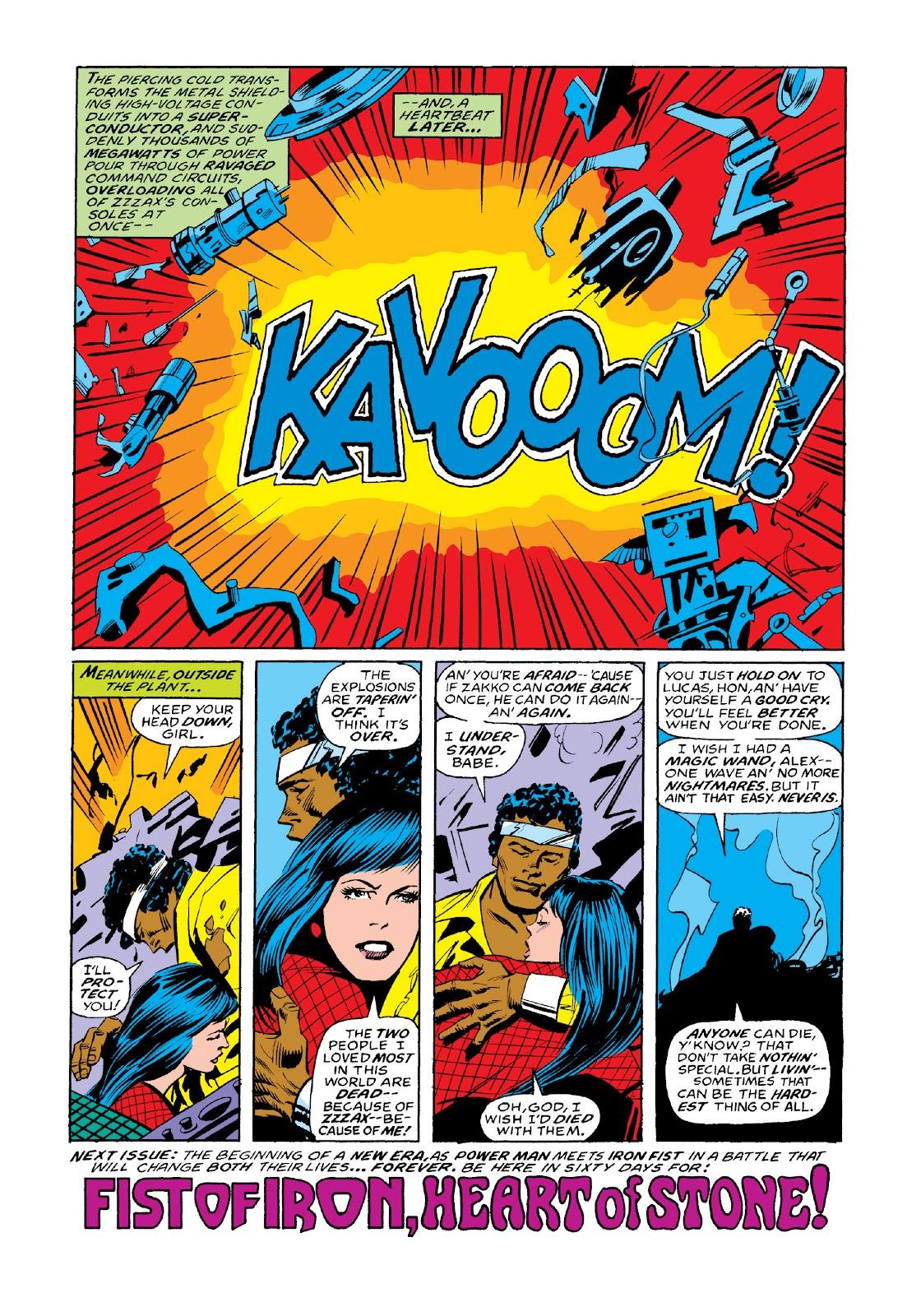 Read online Marvel Masterworks: Luke Cage, Power Man comic -  Issue # TPB 3 (Part 3) - 117